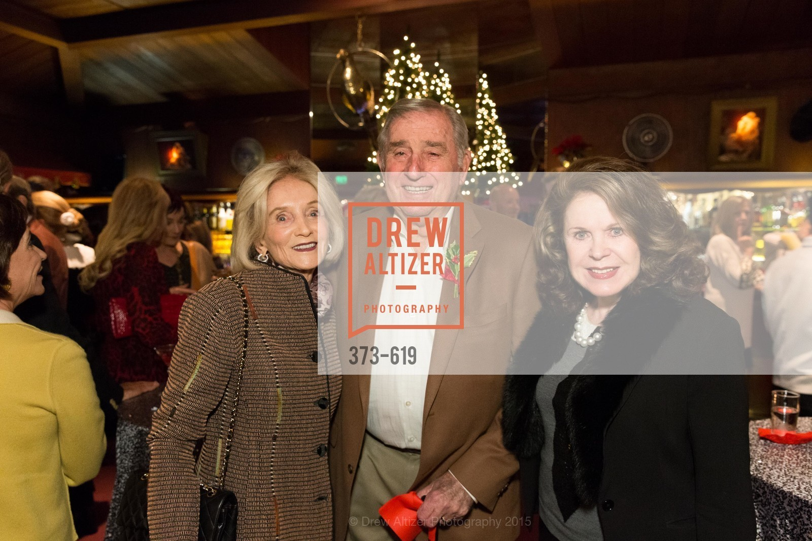 Audrey Sockolov, Robert Sockolov, Ann Caen, Shansby/Matarasso Holiday Lunch, Bimbo's 365 Club. 1025 Columbus Ave, December 4th, 2015,Drew Altizer, Drew Altizer Photography, full-service agency, private events, San Francisco photographer, photographer california
