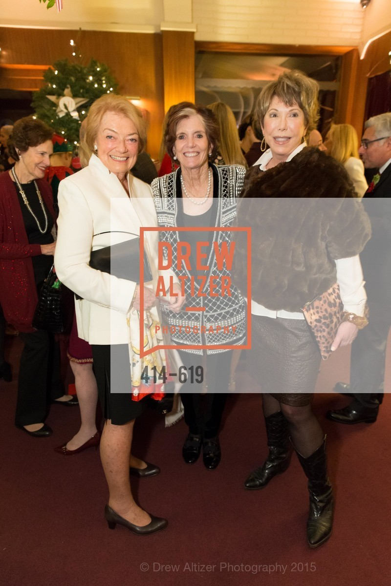 Gretchen De Baubigny, Judy Geggenhime, Sharon Owsley, Shansby/Matarasso Holiday Lunch, Bimbo's 365 Club. 1025 Columbus Ave, December 4th, 2015,Drew Altizer, Drew Altizer Photography, full-service agency, private events, San Francisco photographer, photographer california