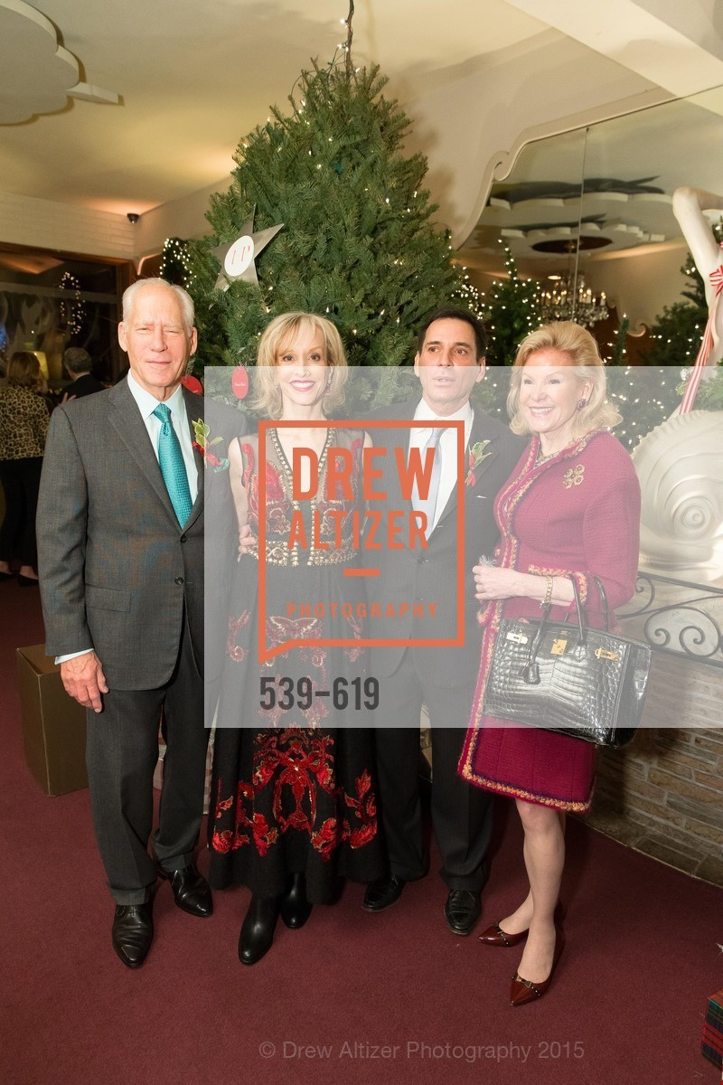 Gary Shansby, OJ Shansby, Seth Matarasso, Dede Wilsey, Shansby/Matarasso Holiday Lunch, Bimbo's 365 Club. 1025 Columbus Ave, December 4th, 2015,Drew Altizer, Drew Altizer Photography, full-service agency, private events, San Francisco photographer, photographer california