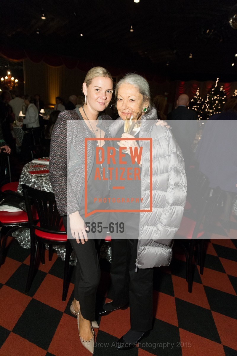Anna Weinstein, Denise Hale, Shansby/Matarasso Holiday Lunch, Bimbo's 365 Club. 1025 Columbus Ave, December 4th, 2015,Drew Altizer, Drew Altizer Photography, full-service agency, private events, San Francisco photographer, photographer california