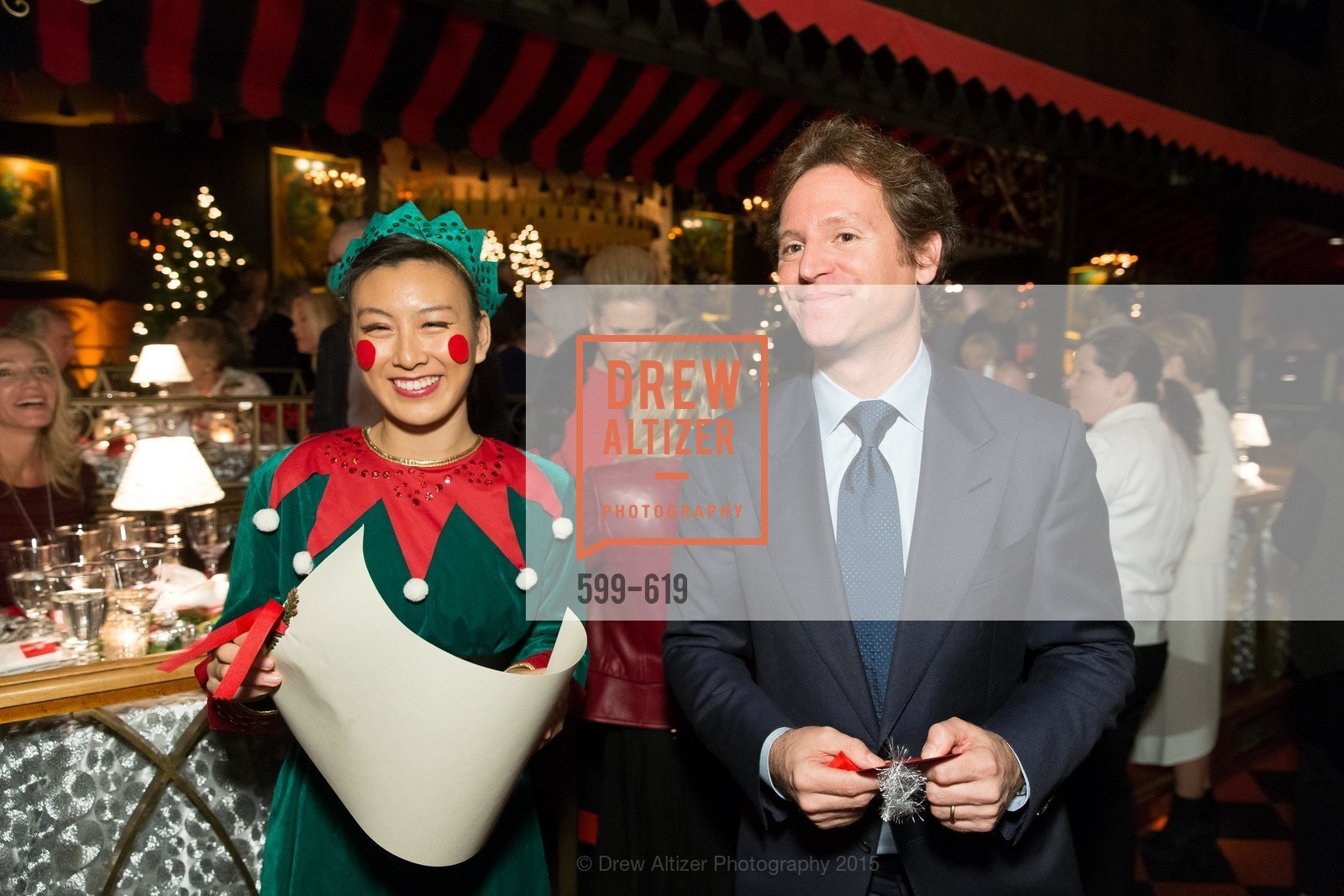 Trevor Traina, Shansby/Matarasso Holiday Lunch, Bimbo's 365 Club. 1025 Columbus Ave, December 4th, 2015,Drew Altizer, Drew Altizer Photography, full-service agency, private events, San Francisco photographer, photographer california
