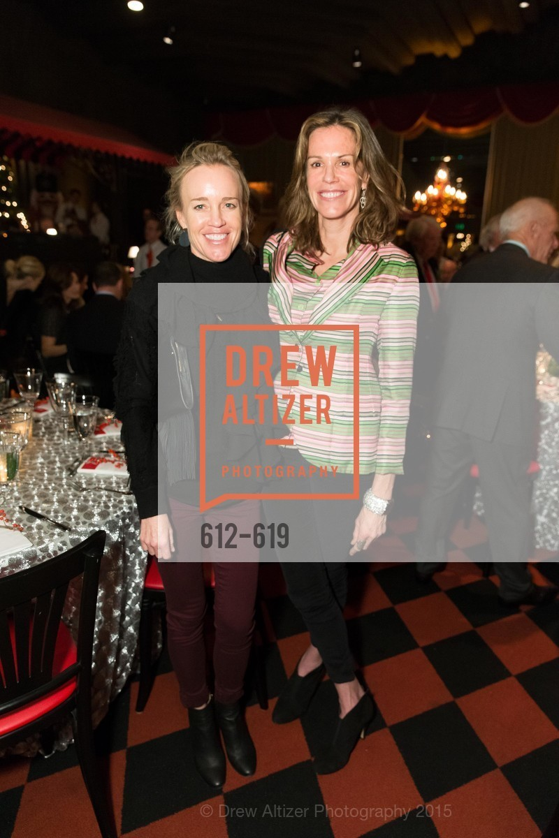 Heidi Castelein, Leslie Thieriot, Shansby/Matarasso Holiday Lunch, Bimbo's 365 Club. 1025 Columbus Ave, December 4th, 2015,Drew Altizer, Drew Altizer Photography, full-service agency, private events, San Francisco photographer, photographer california