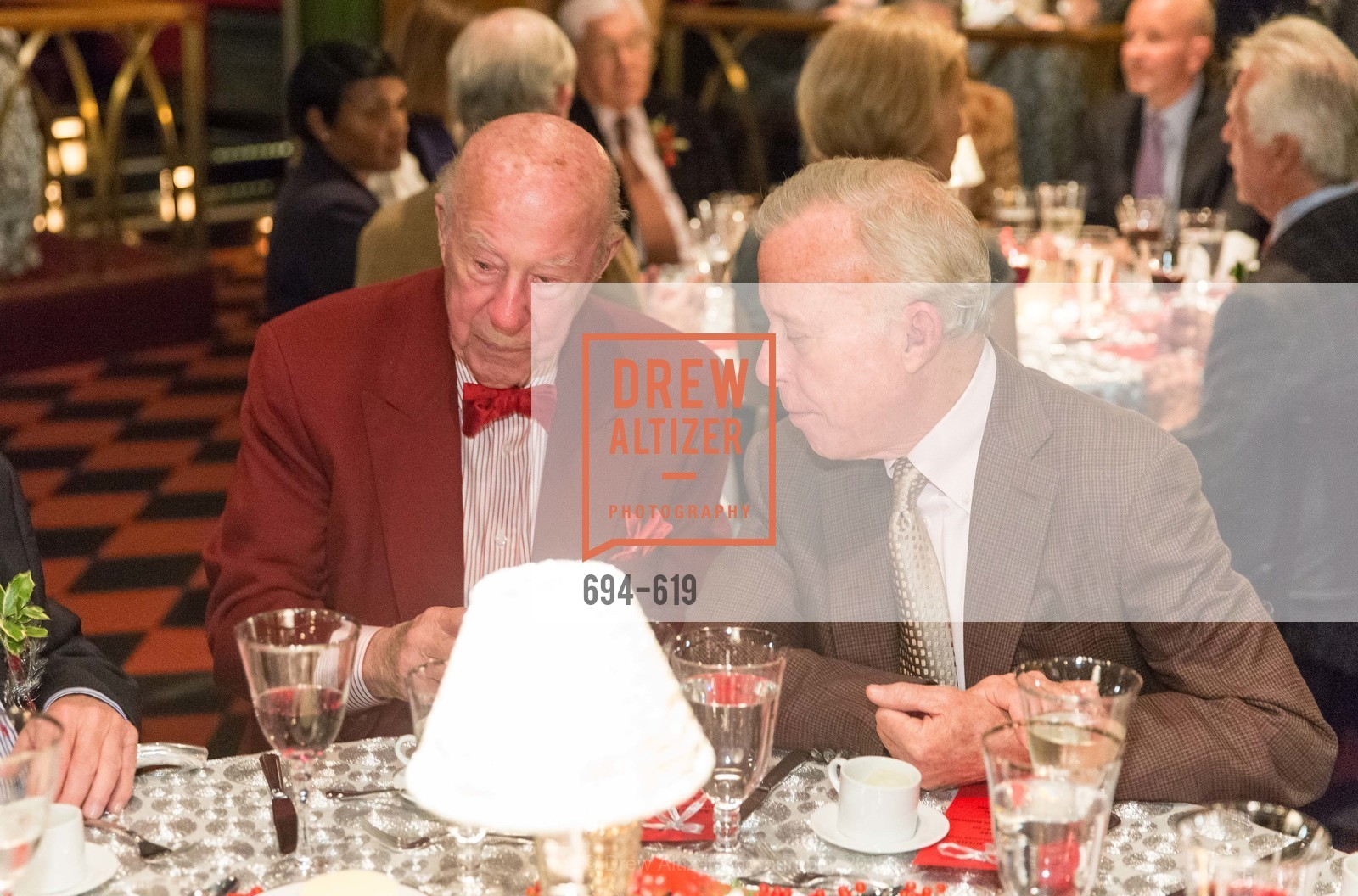 George Shultz, Shansby/Matarasso Holiday Lunch, Bimbo's 365 Club. 1025 Columbus Ave, December 4th, 2015,Drew Altizer, Drew Altizer Photography, full-service agency, private events, San Francisco photographer, photographer california