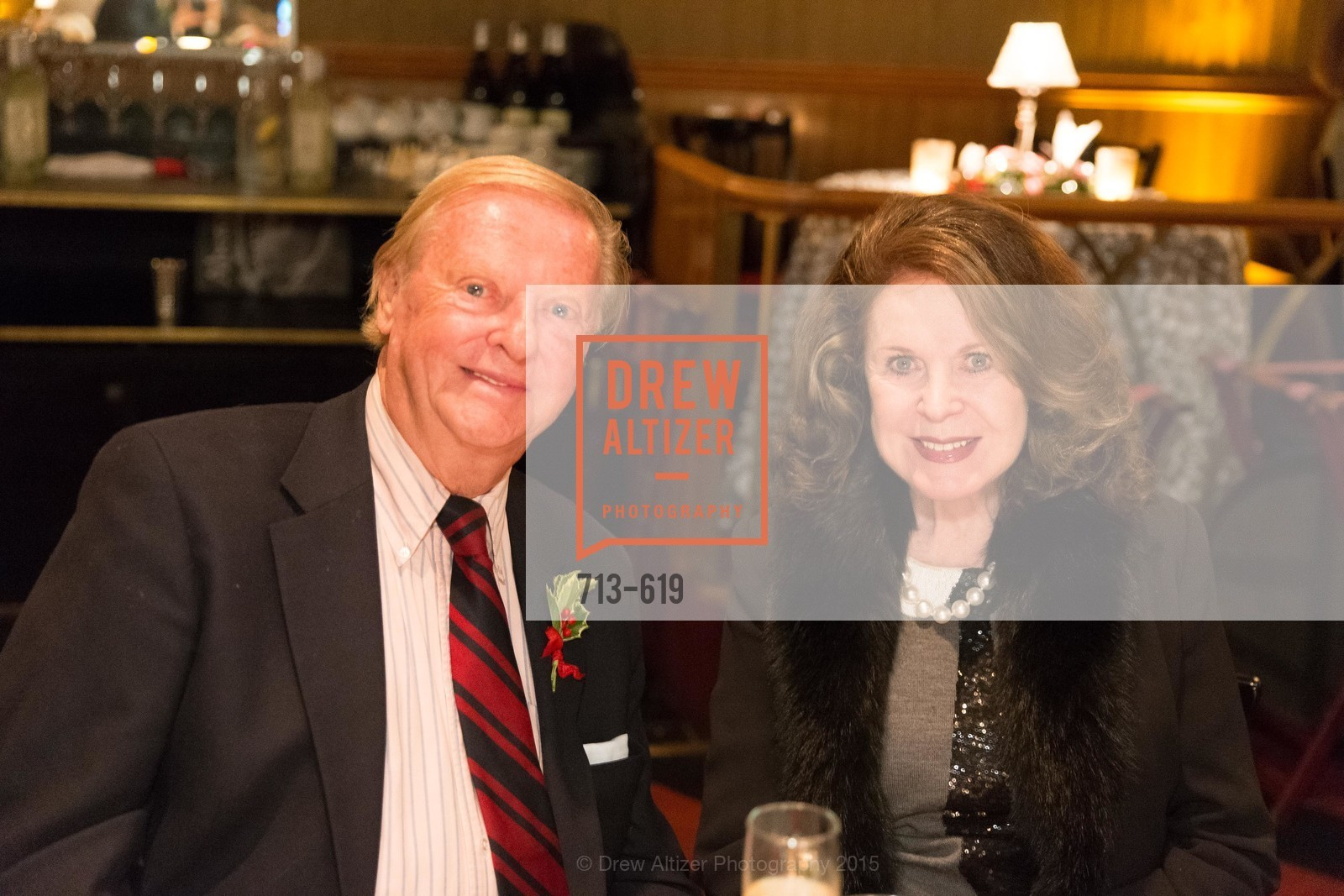 Harry DeWilt, Ann Caen, Shansby/Matarasso Holiday Lunch, Bimbo's 365 Club. 1025 Columbus Ave, December 4th, 2015,Drew Altizer, Drew Altizer Photography, full-service event agency, private events, San Francisco photographer, photographer California