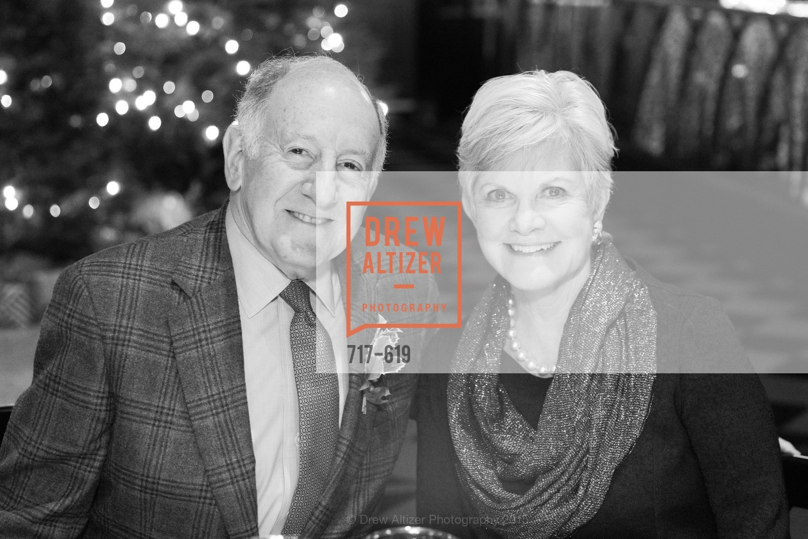 Ron George, Connie Lurie, Shansby/Matarasso Holiday Lunch, Bimbo's 365 Club. 1025 Columbus Ave, December 4th, 2015,Drew Altizer, Drew Altizer Photography, full-service agency, private events, San Francisco photographer, photographer california
