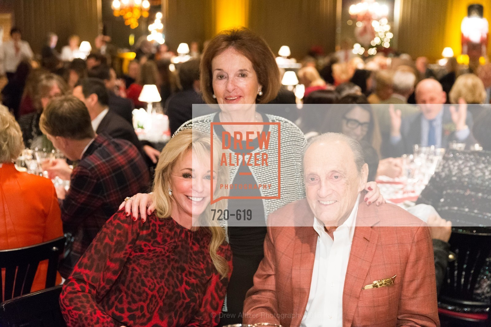 Trish Stephens, Audrey Sockolov, Robert Sockolov, Shansby/Matarasso Holiday Lunch, Bimbo's 365 Club. 1025 Columbus Ave, December 4th, 2015,Drew Altizer, Drew Altizer Photography, full-service agency, private events, San Francisco photographer, photographer california