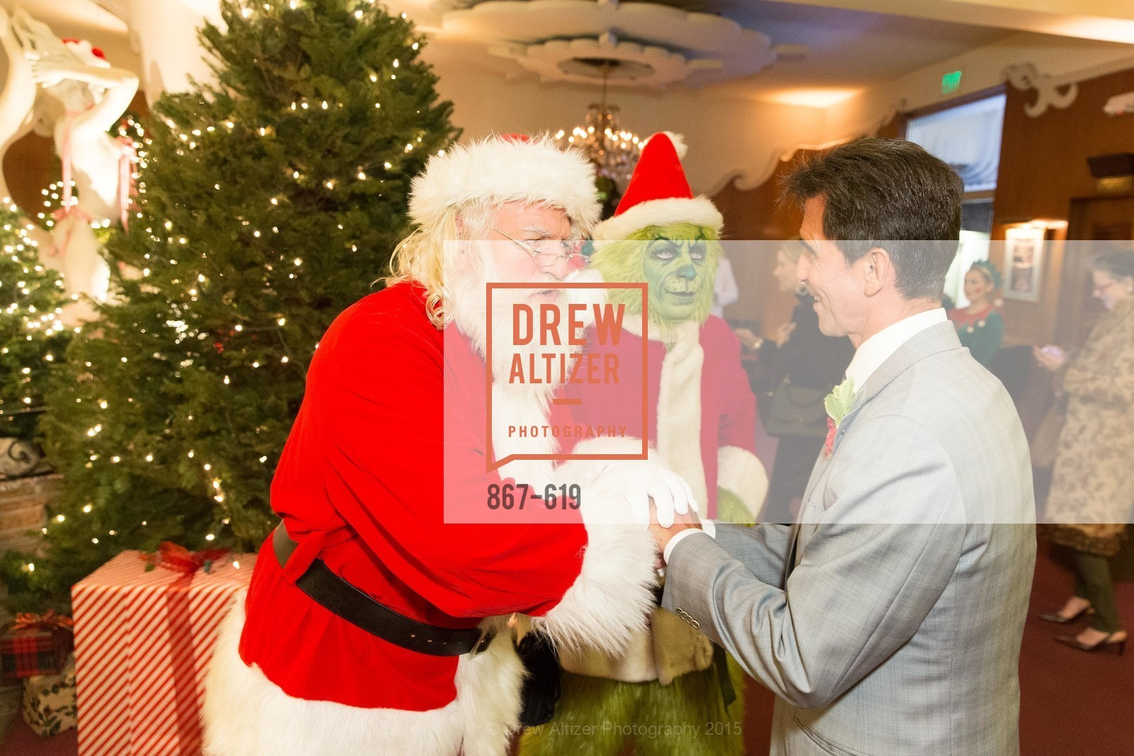 Douglas McKechnie, Jef Valentine, Mark Leno, Shansby/Matarasso Holiday Lunch, Bimbo's 365 Club. 1025 Columbus Ave, December 4th, 2015,Drew Altizer, Drew Altizer Photography, full-service agency, private events, San Francisco photographer, photographer california