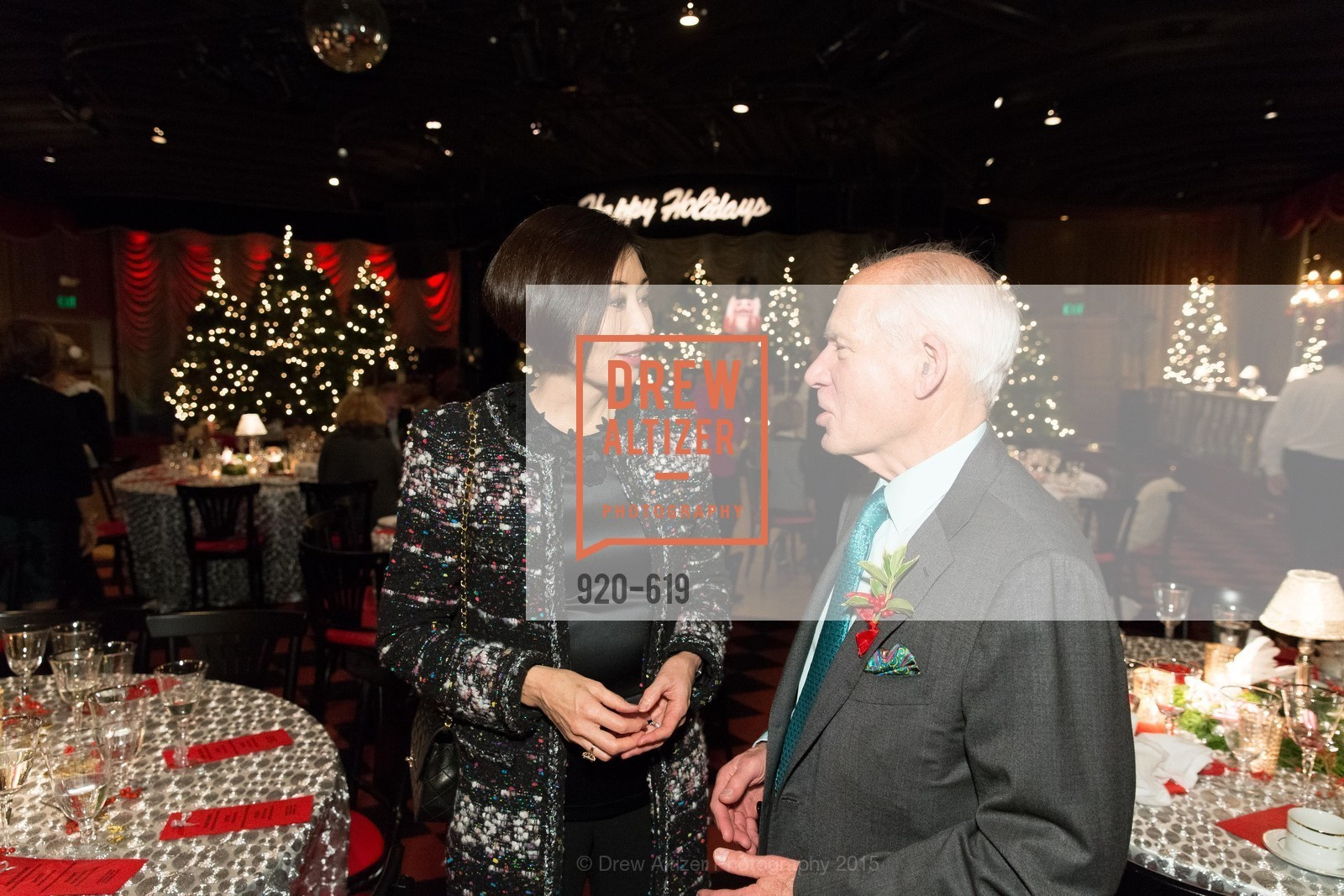 Yurie Pascarella, Gary Shansby, Shansby/Matarasso Holiday Lunch, Bimbo's 365 Club. 1025 Columbus Ave, December 4th, 2015,Drew Altizer, Drew Altizer Photography, full-service agency, private events, San Francisco photographer, photographer california