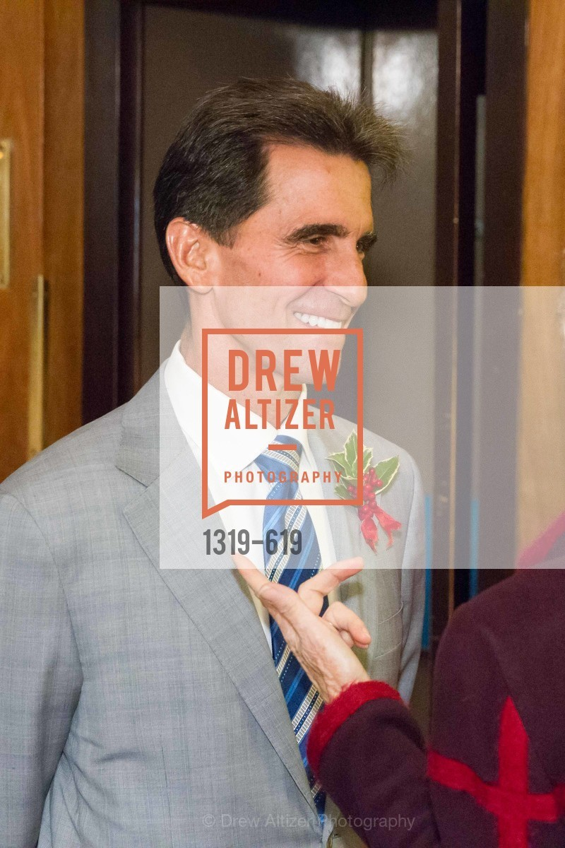 Mark Leno, Shansby/Matarasso Holiday Lunch, Bimbo's 365 Club. 1025 Columbus Ave, December 4th, 2015,Drew Altizer, Drew Altizer Photography, full-service agency, private events, San Francisco photographer, photographer california