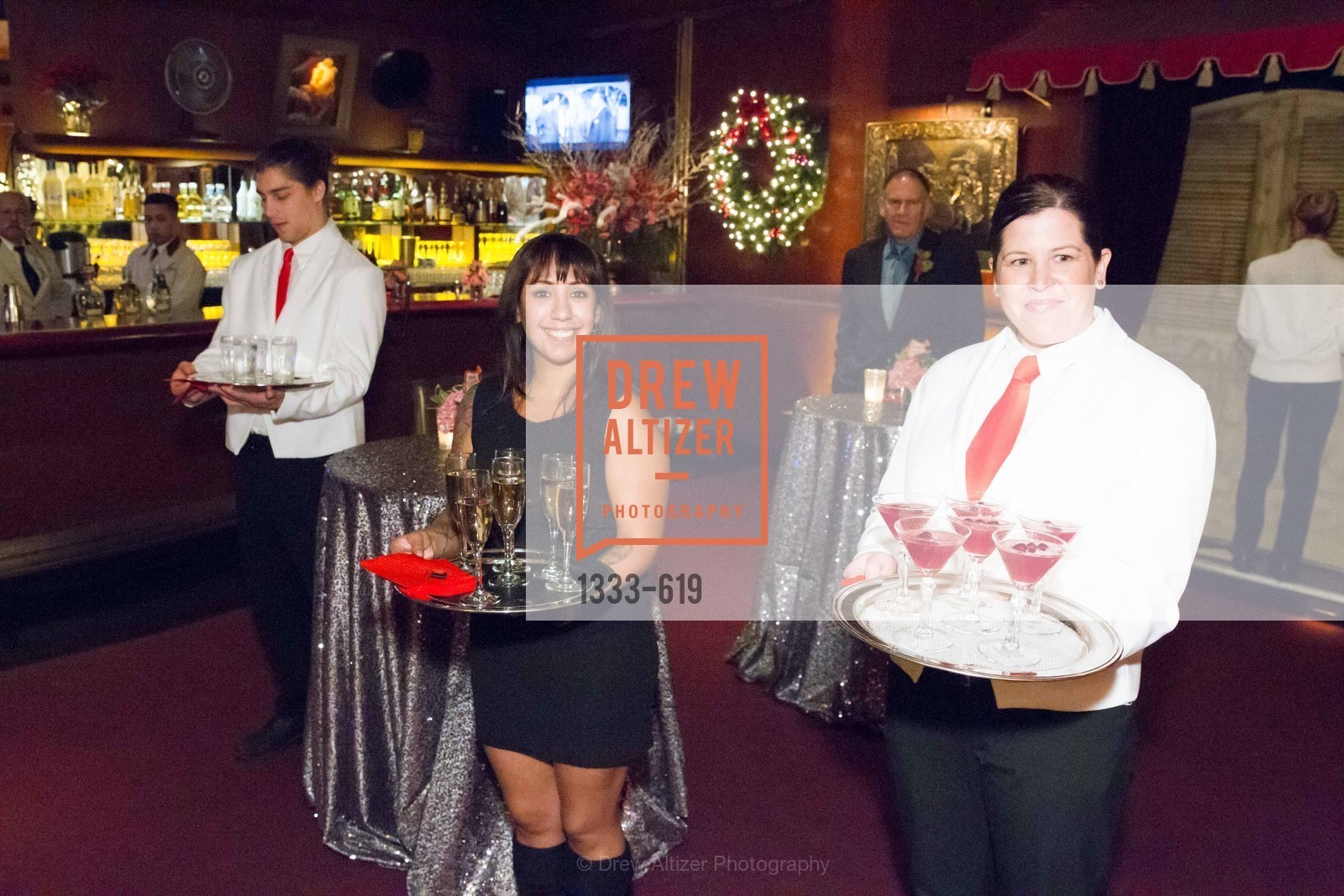 Atmosphere, Shansby/Matarasso Holiday Lunch, Bimbo's 365 Club. 1025 Columbus Ave, December 4th, 2015,Drew Altizer, Drew Altizer Photography, full-service agency, private events, San Francisco photographer, photographer california