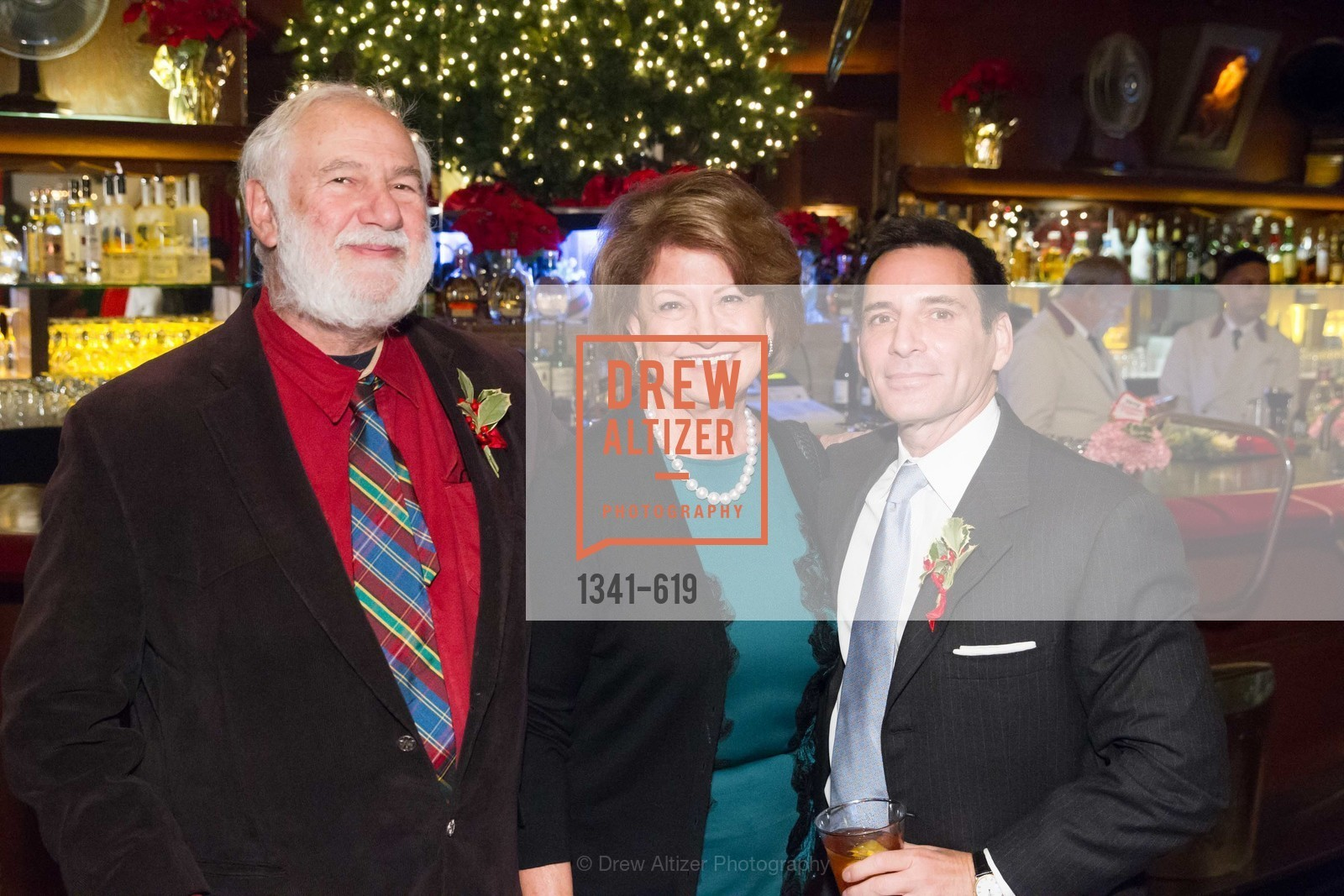 Jerry Garcheck, Martha Ehrmer, Seth Matarasso, Shansby/Matarasso Holiday Lunch, Bimbo's 365 Club. 1025 Columbus Ave, December 4th, 2015,Drew Altizer, Drew Altizer Photography, full-service agency, private events, San Francisco photographer, photographer california