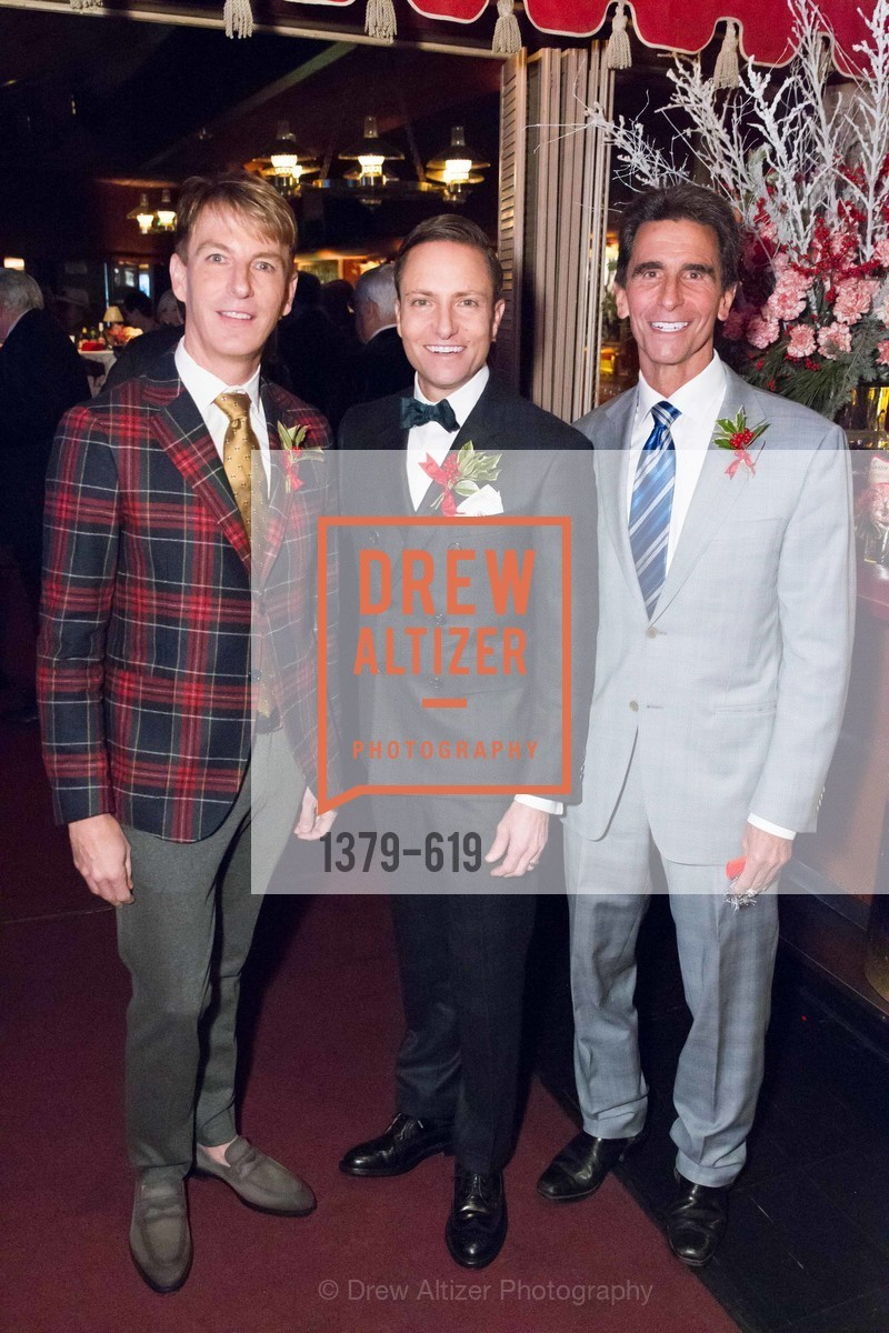 Jack Calhoun, Ken Fulk, Mark Leno, Shansby/Matarasso Holiday Lunch, Bimbo's 365 Club. 1025 Columbus Ave, December 4th, 2015,Drew Altizer, Drew Altizer Photography, full-service agency, private events, San Francisco photographer, photographer california