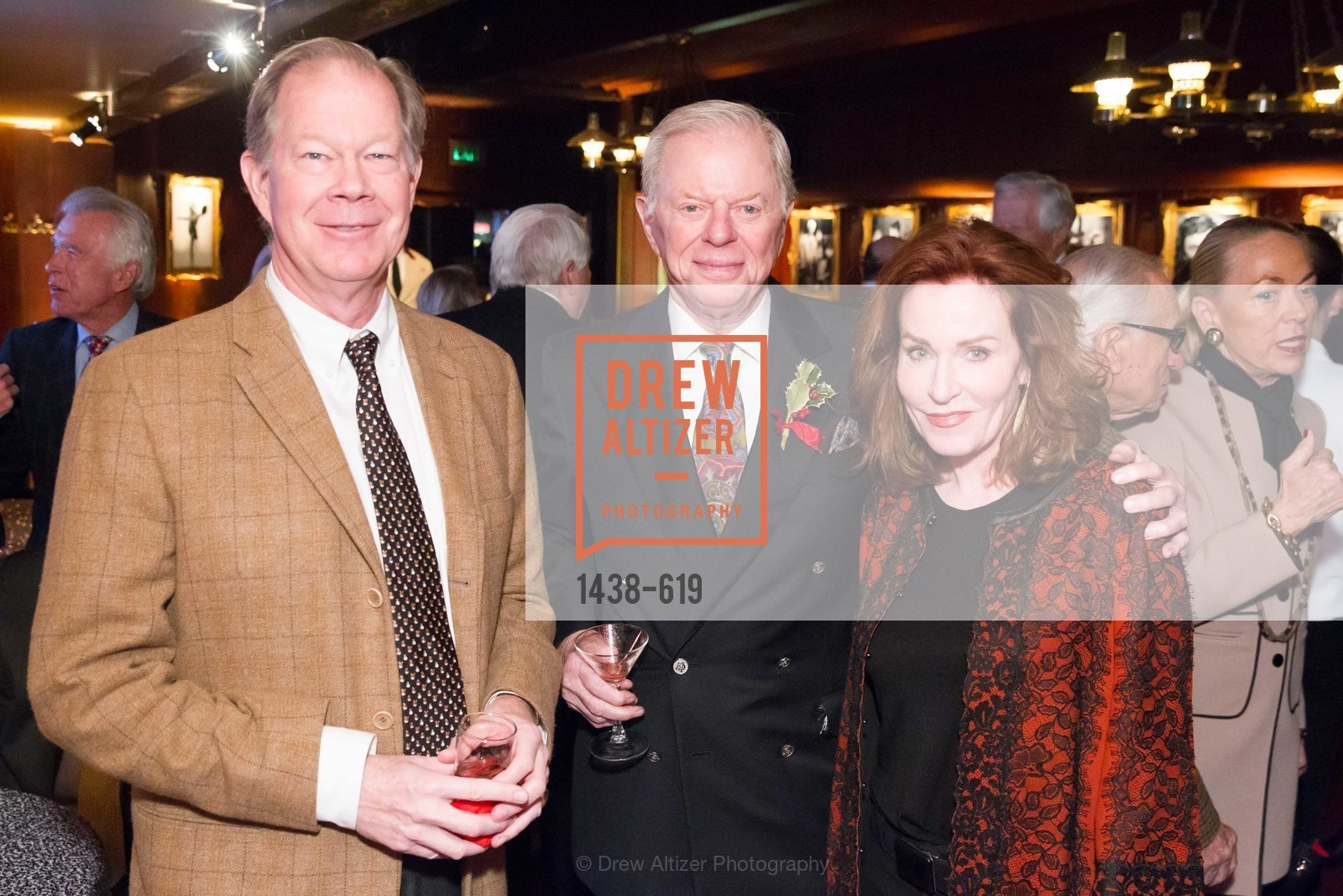 George Jewett, Sandy Walker, Brenda Jewett, Shansby/Matarasso Holiday Lunch, Bimbo's 365 Club. 1025 Columbus Ave, December 4th, 2015,Drew Altizer, Drew Altizer Photography, full-service agency, private events, San Francisco photographer, photographer california