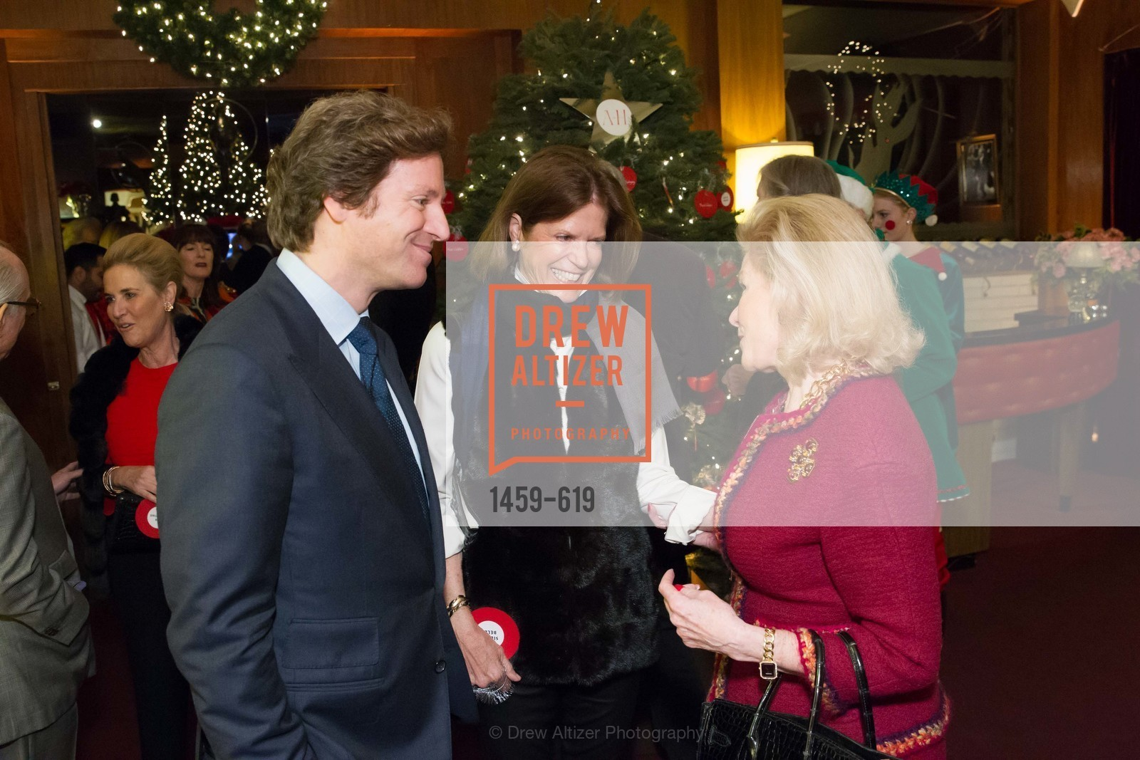 Trevor Traina, Dede Wilsey, Shansby/Matarasso Holiday Lunch, Bimbo's 365 Club. 1025 Columbus Ave, December 4th, 2015,Drew Altizer, Drew Altizer Photography, full-service agency, private events, San Francisco photographer, photographer california