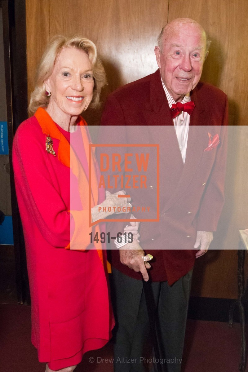 Charlotte Shultz, George Shultz, Shansby/Matarasso Holiday Lunch, Bimbo's 365 Club. 1025 Columbus Ave, December 4th, 2015,Drew Altizer, Drew Altizer Photography, full-service agency, private events, San Francisco photographer, photographer california