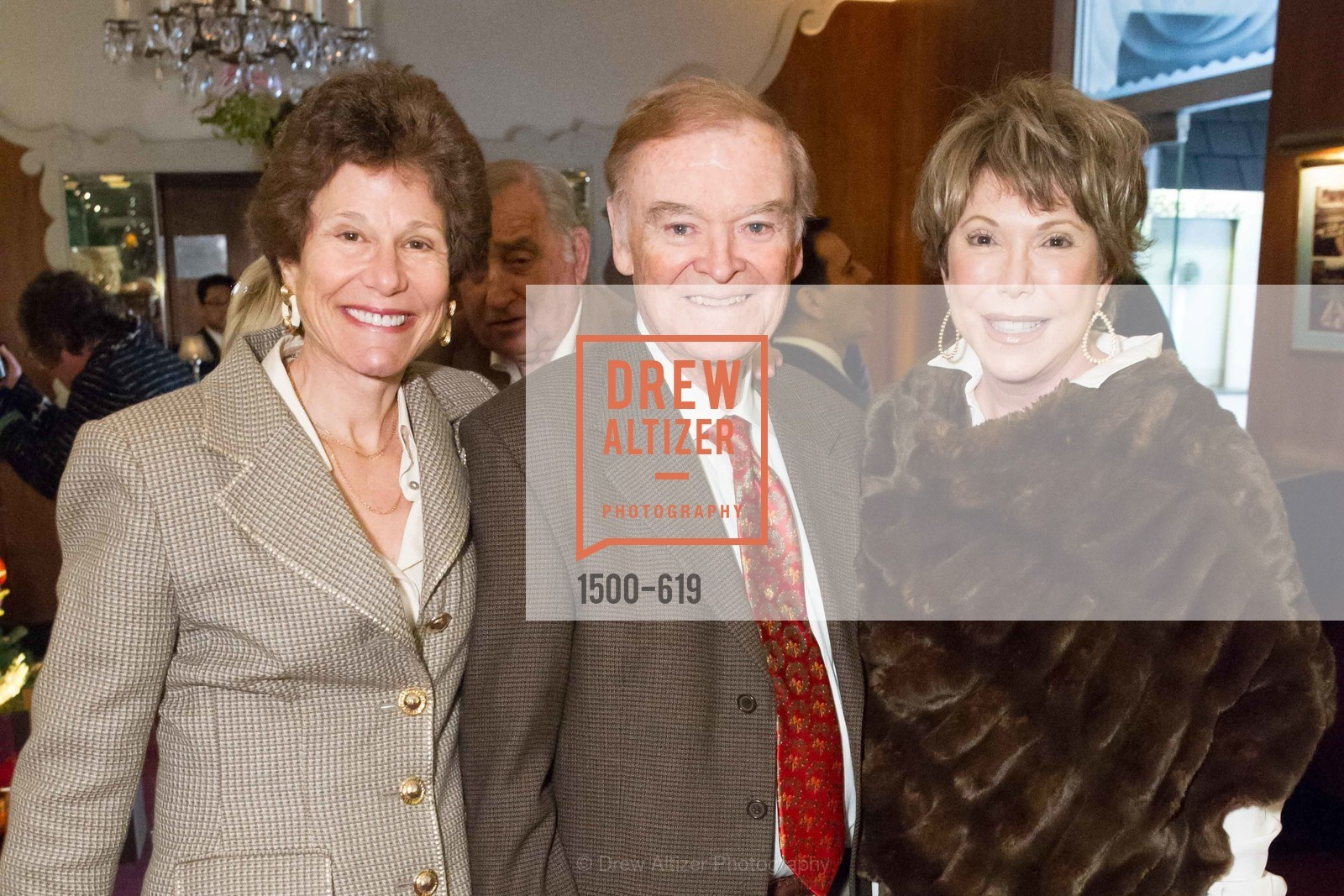 Wendy Paskin-Jordan, Frank Jordan, Shansby/Matarasso Holiday Lunch, Bimbo's 365 Club. 1025 Columbus Ave, December 4th, 2015,Drew Altizer, Drew Altizer Photography, full-service agency, private events, San Francisco photographer, photographer california