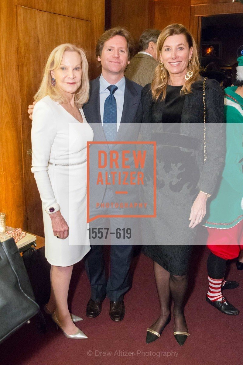 Carol McNeal, Trevor Traina, Susan Dunlevy, Shansby/Matarasso Holiday Lunch, Bimbo's 365 Club. 1025 Columbus Ave, December 4th, 2015,Drew Altizer, Drew Altizer Photography, full-service agency, private events, San Francisco photographer, photographer california
