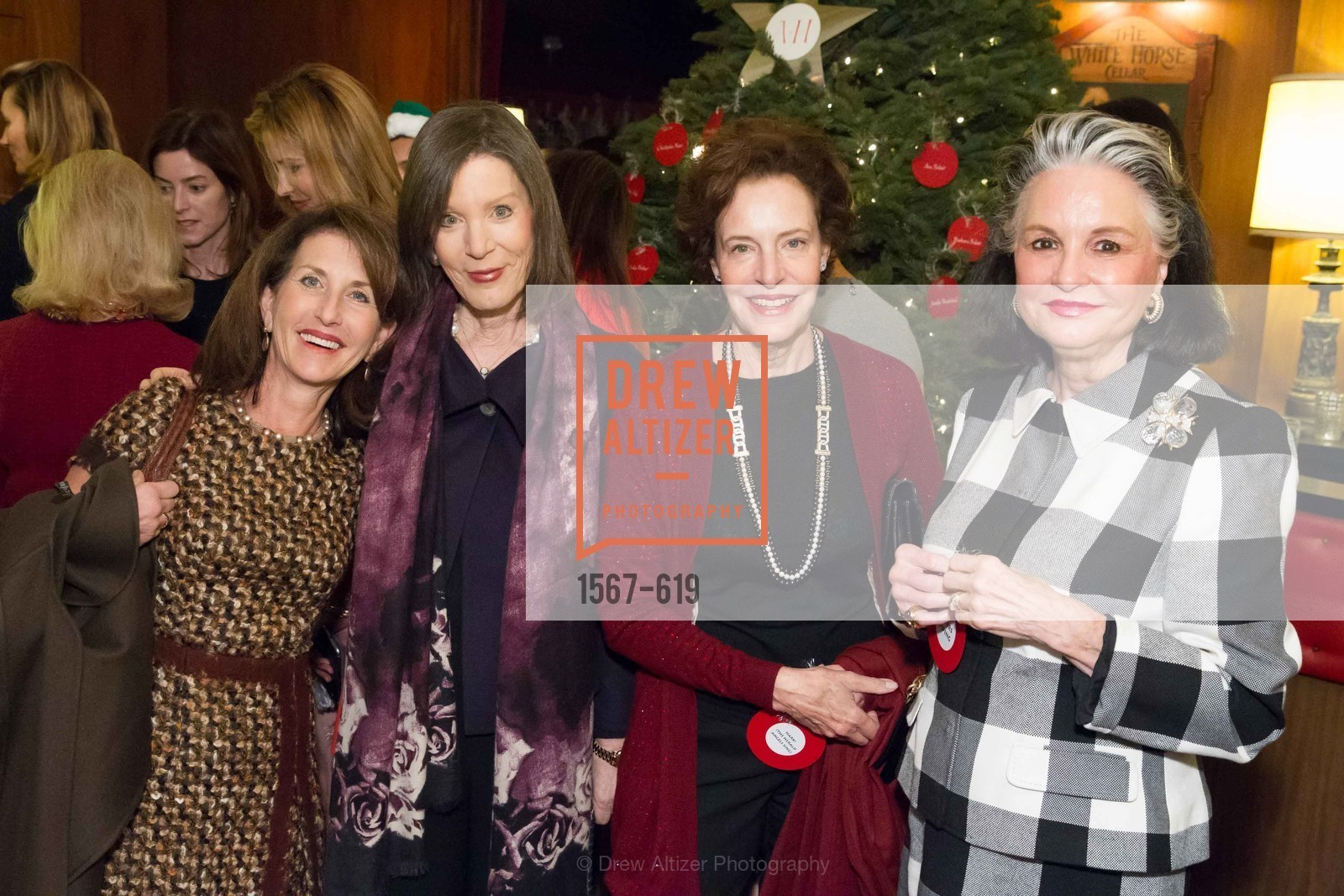Barbara George, Diane Chapman, Shansby/Matarasso Holiday Lunch, Bimbo's 365 Club. 1025 Columbus Ave, December 4th, 2015,Drew Altizer, Drew Altizer Photography, full-service agency, private events, San Francisco photographer, photographer california