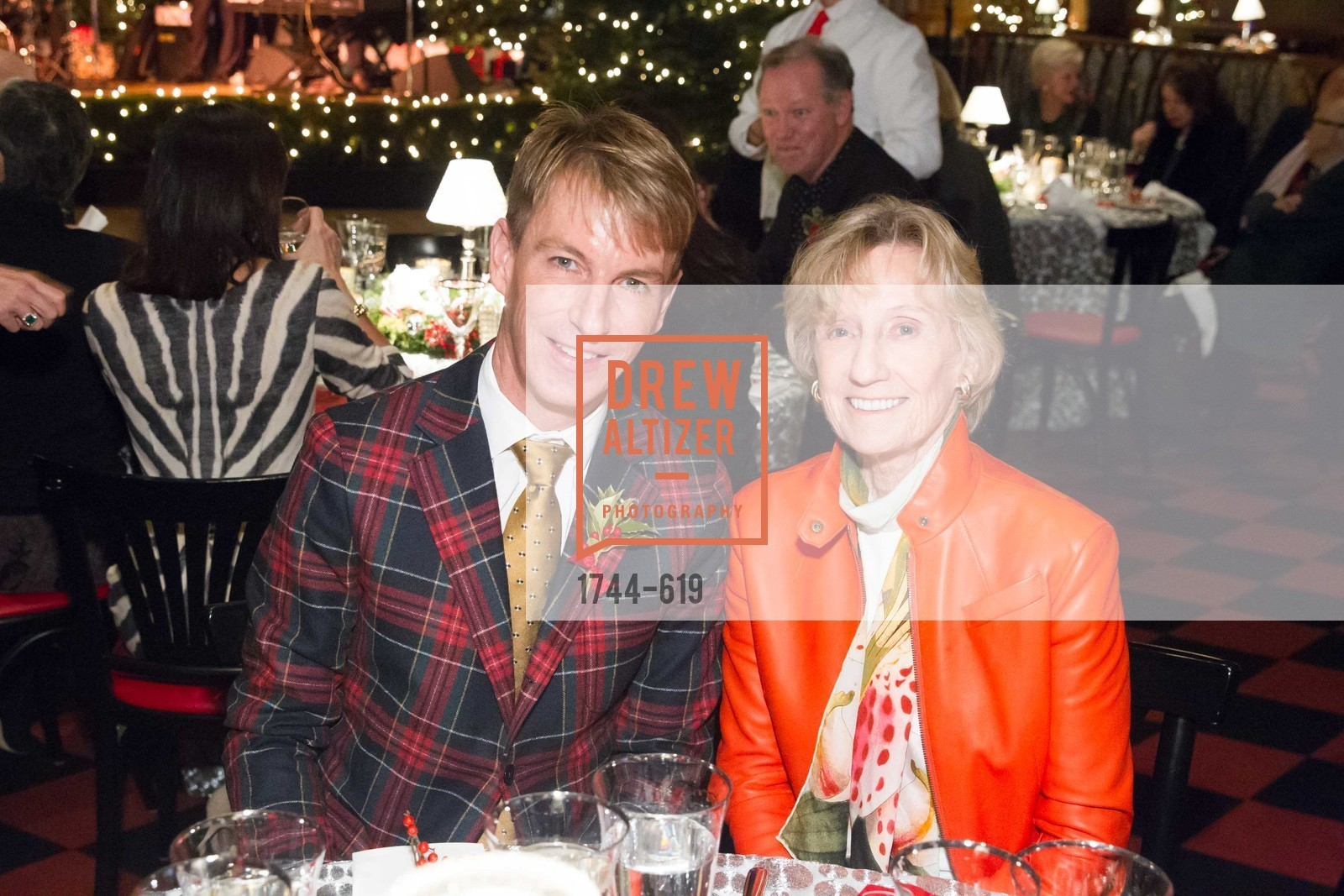 Jack Calhoun, Nancy Bechtle, Shansby/Matarasso Holiday Lunch, Bimbo's 365 Club. 1025 Columbus Ave, December 4th, 2015,Drew Altizer, Drew Altizer Photography, full-service agency, private events, San Francisco photographer, photographer california
