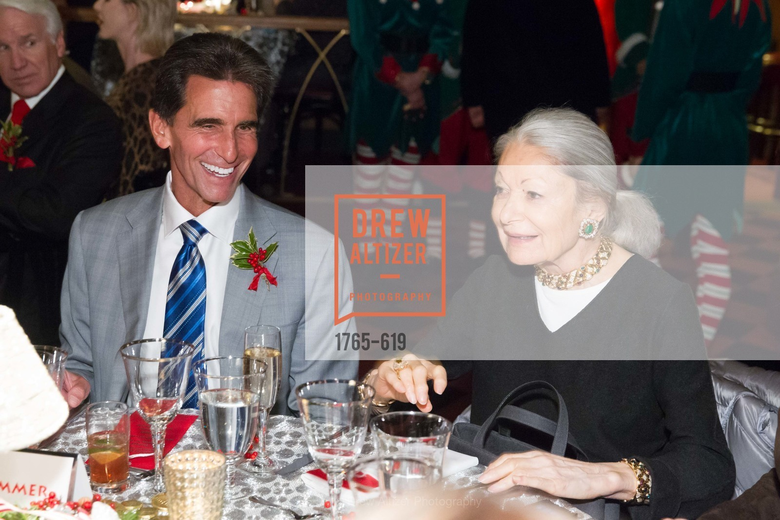 Mark Leno, Denise Hale, Shansby/Matarasso Holiday Lunch, Bimbo's 365 Club. 1025 Columbus Ave, December 4th, 2015,Drew Altizer, Drew Altizer Photography, full-service agency, private events, San Francisco photographer, photographer california