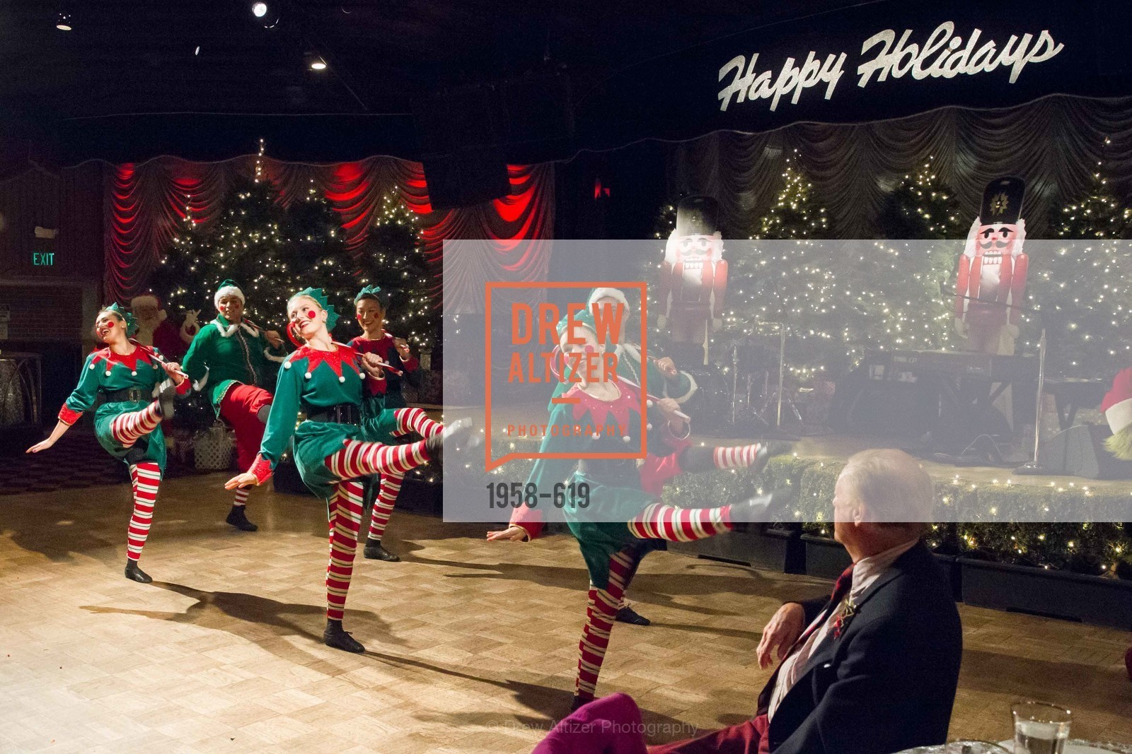 Performance, Shansby/Matarasso Holiday Lunch, Bimbo's 365 Club. 1025 Columbus Ave, December 4th, 2015,Drew Altizer, Drew Altizer Photography, full-service agency, private events, San Francisco photographer, photographer california