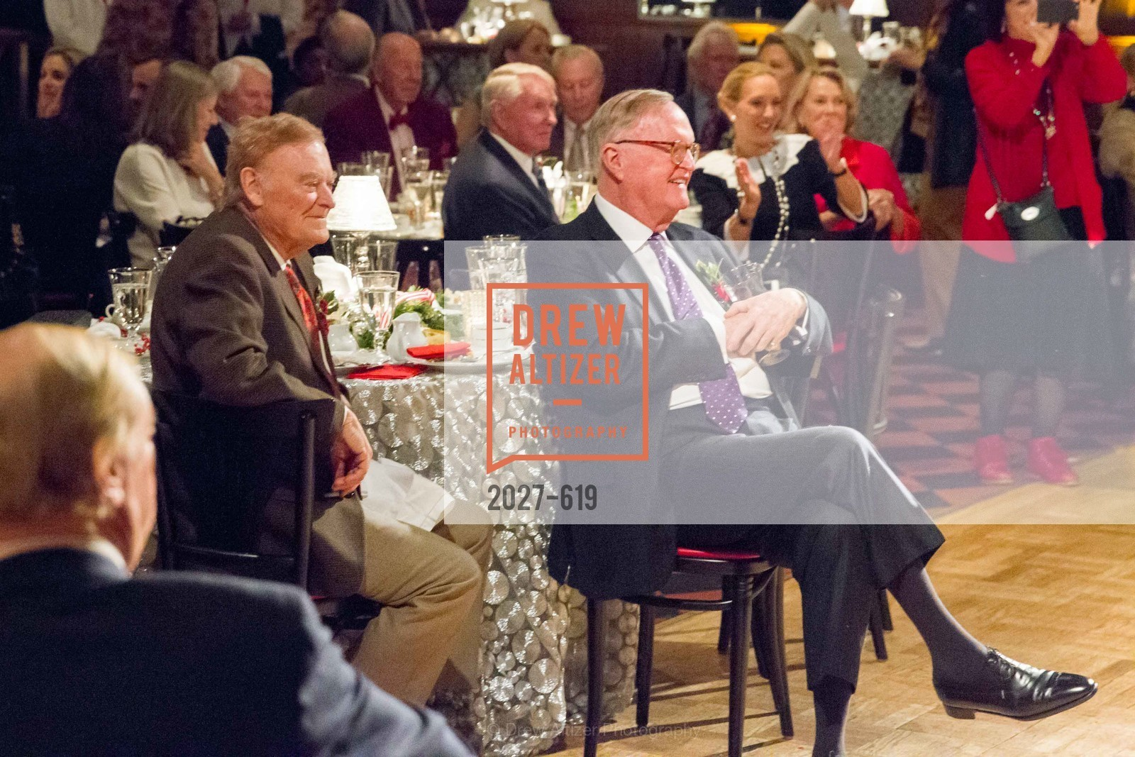 Frank Jordan, Bruno Ristow, Shansby/Matarasso Holiday Lunch, Bimbo's 365 Club. 1025 Columbus Ave, December 4th, 2015,Drew Altizer, Drew Altizer Photography, full-service agency, private events, San Francisco photographer, photographer california