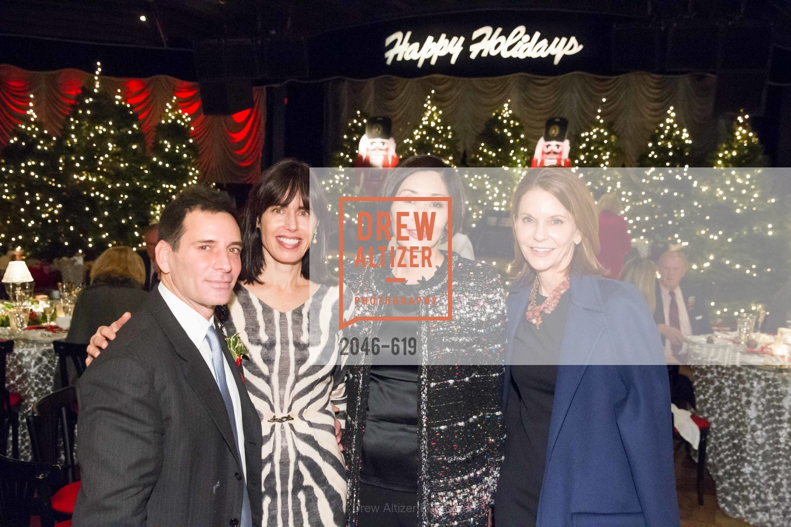 Seth Matarasso, Yurie Pascarella, Shansby/Matarasso Holiday Lunch, Bimbo's 365 Club. 1025 Columbus Ave, December 4th, 2015,Drew Altizer, Drew Altizer Photography, full-service agency, private events, San Francisco photographer, photographer california