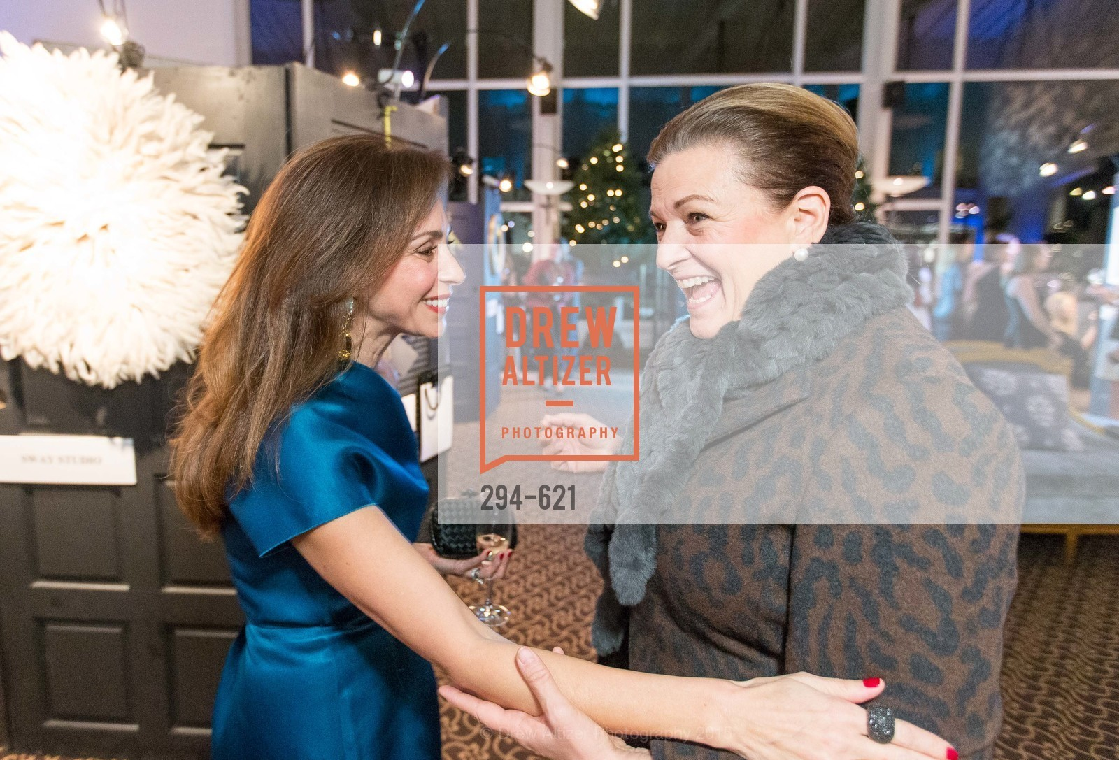Maryam Muduroglu, Susan Malott, Children of Shelters' Jingle and Mingle, Golden Gate Club. 135 Fisher Loop, December 3rd, 2015,Drew Altizer, Drew Altizer Photography, full-service agency, private events, San Francisco photographer, photographer california
