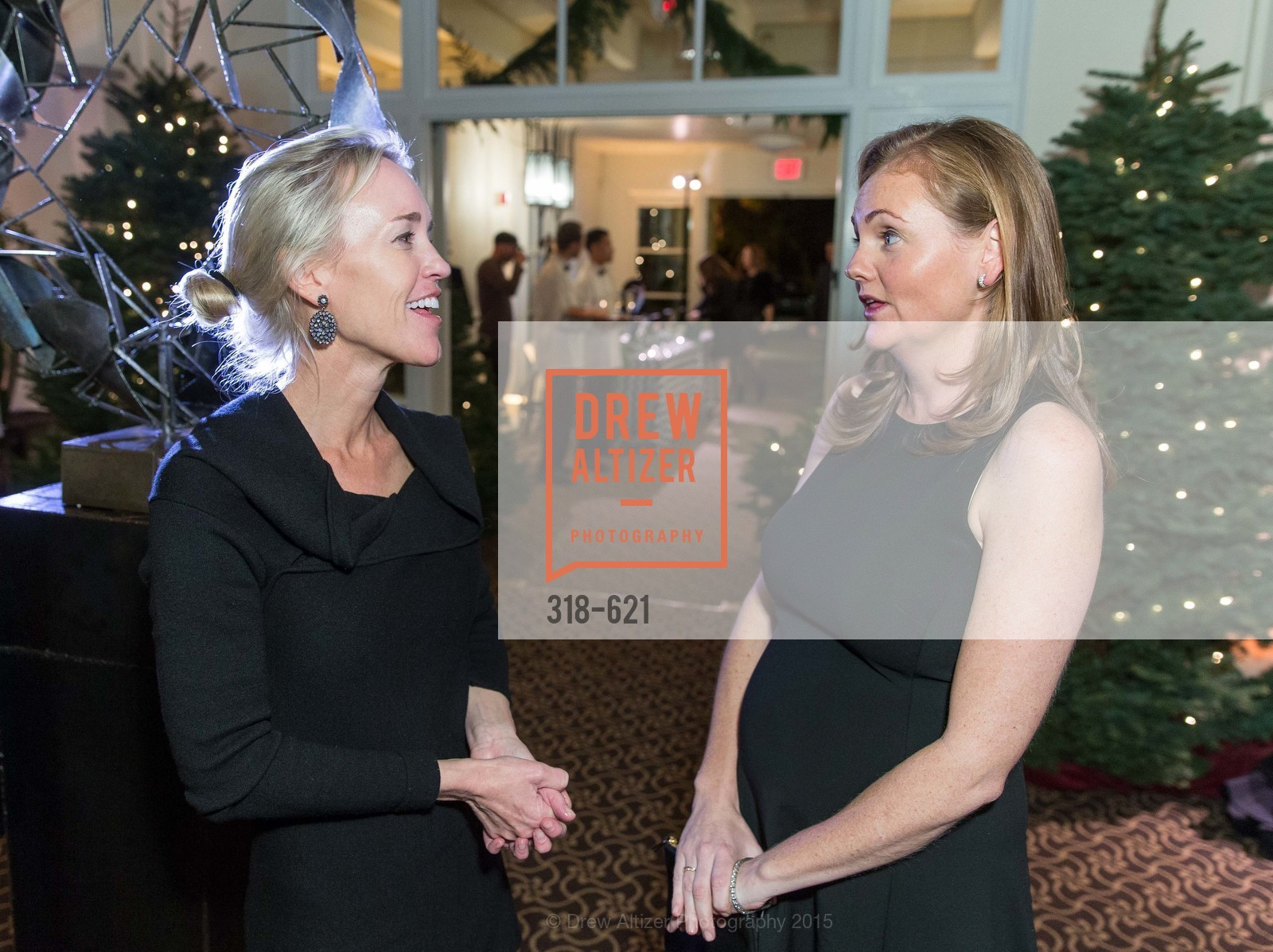 Heidi Castelein, Katie Spalding, Children of Shelters' Jingle and Mingle, Golden Gate Club. 135 Fisher Loop, December 3rd, 2015,Drew Altizer, Drew Altizer Photography, full-service agency, private events, San Francisco photographer, photographer california