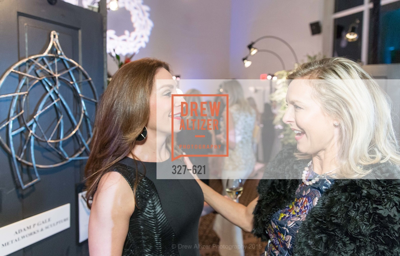 Stefanie Roumeliotes, Kate Sheridan Chung, Children of Shelters' Jingle and Mingle, Golden Gate Club. 135 Fisher Loop, December 3rd, 2015,Drew Altizer, Drew Altizer Photography, full-service agency, private events, San Francisco photographer, photographer california