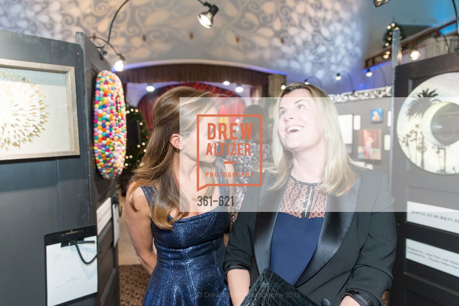 Stephanie Plexico, Meredith Levy, Children of Shelters' Jingle and Mingle, Golden Gate Club. 135 Fisher Loop, December 3rd, 2015,Drew Altizer, Drew Altizer Photography, full-service agency, private events, San Francisco photographer, photographer california