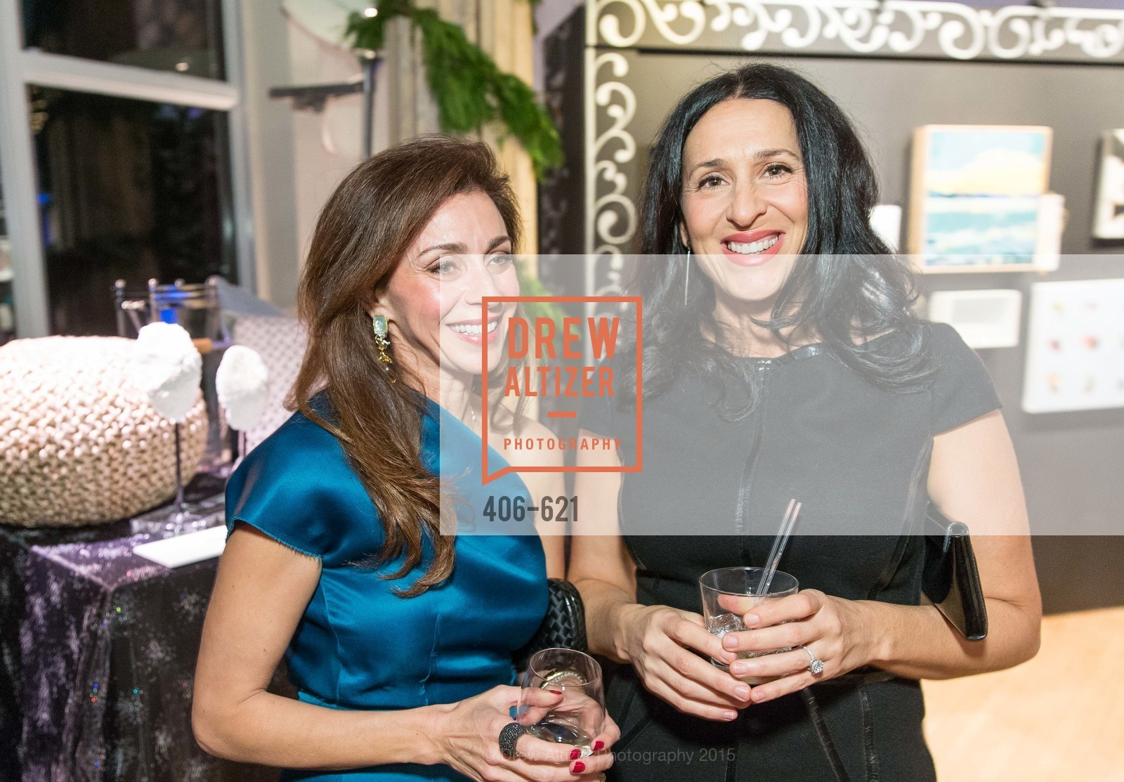 Maryam Muduroglu, Celeen Stenzler, Children of Shelters' Jingle and Mingle, Golden Gate Club. 135 Fisher Loop, December 3rd, 2015,Drew Altizer, Drew Altizer Photography, full-service agency, private events, San Francisco photographer, photographer california
