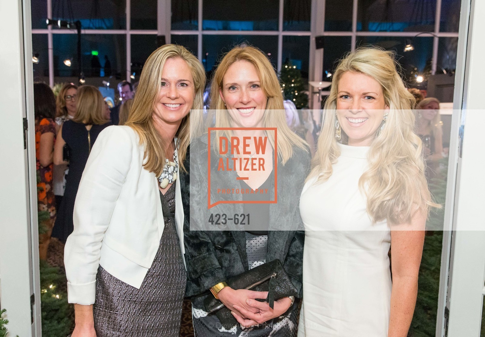 Katie Seymore, Claire Zintak, Mimi Swank, Children of Shelters' Jingle and Mingle, Golden Gate Club. 135 Fisher Loop, December 3rd, 2015,Drew Altizer, Drew Altizer Photography, full-service agency, private events, San Francisco photographer, photographer california