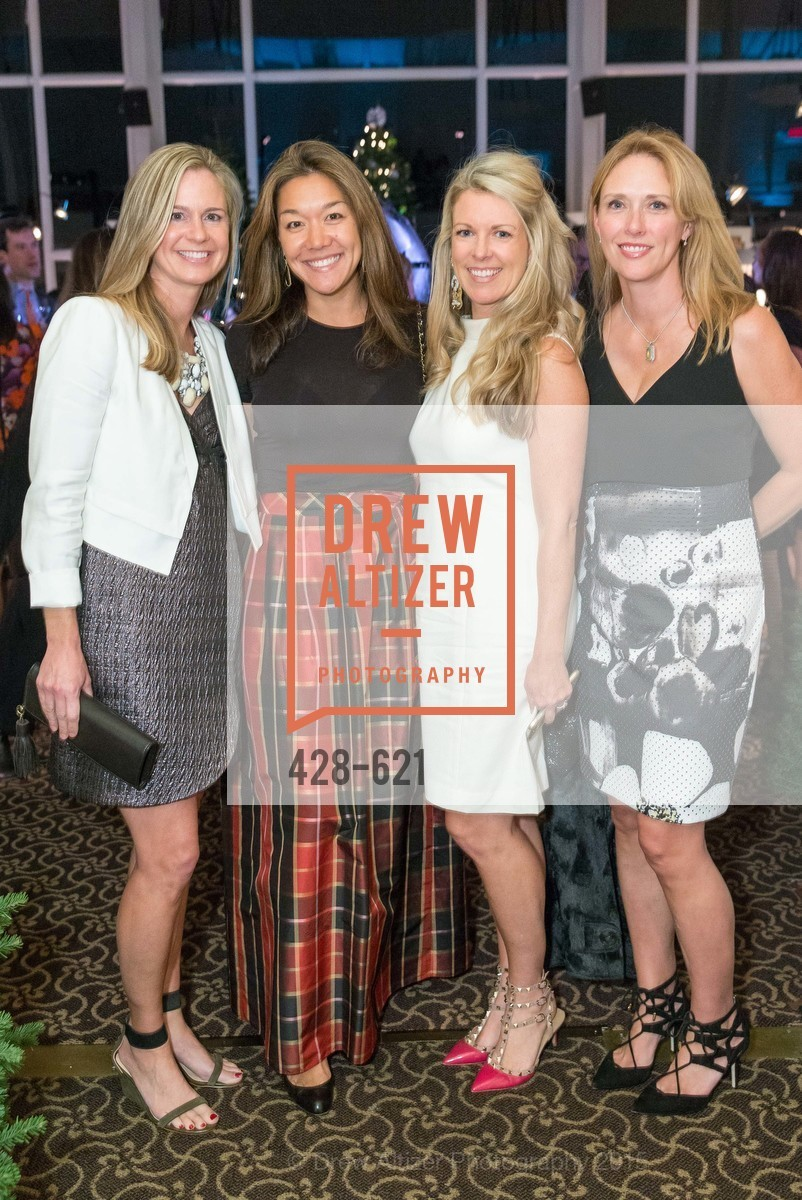 Katie Seymore, Elizabeth Wilhelm, Mimi Swank, Claire Zintak, Children of Shelters' Jingle and Mingle, Golden Gate Club. 135 Fisher Loop, December 3rd, 2015,Drew Altizer, Drew Altizer Photography, full-service agency, private events, San Francisco photographer, photographer california