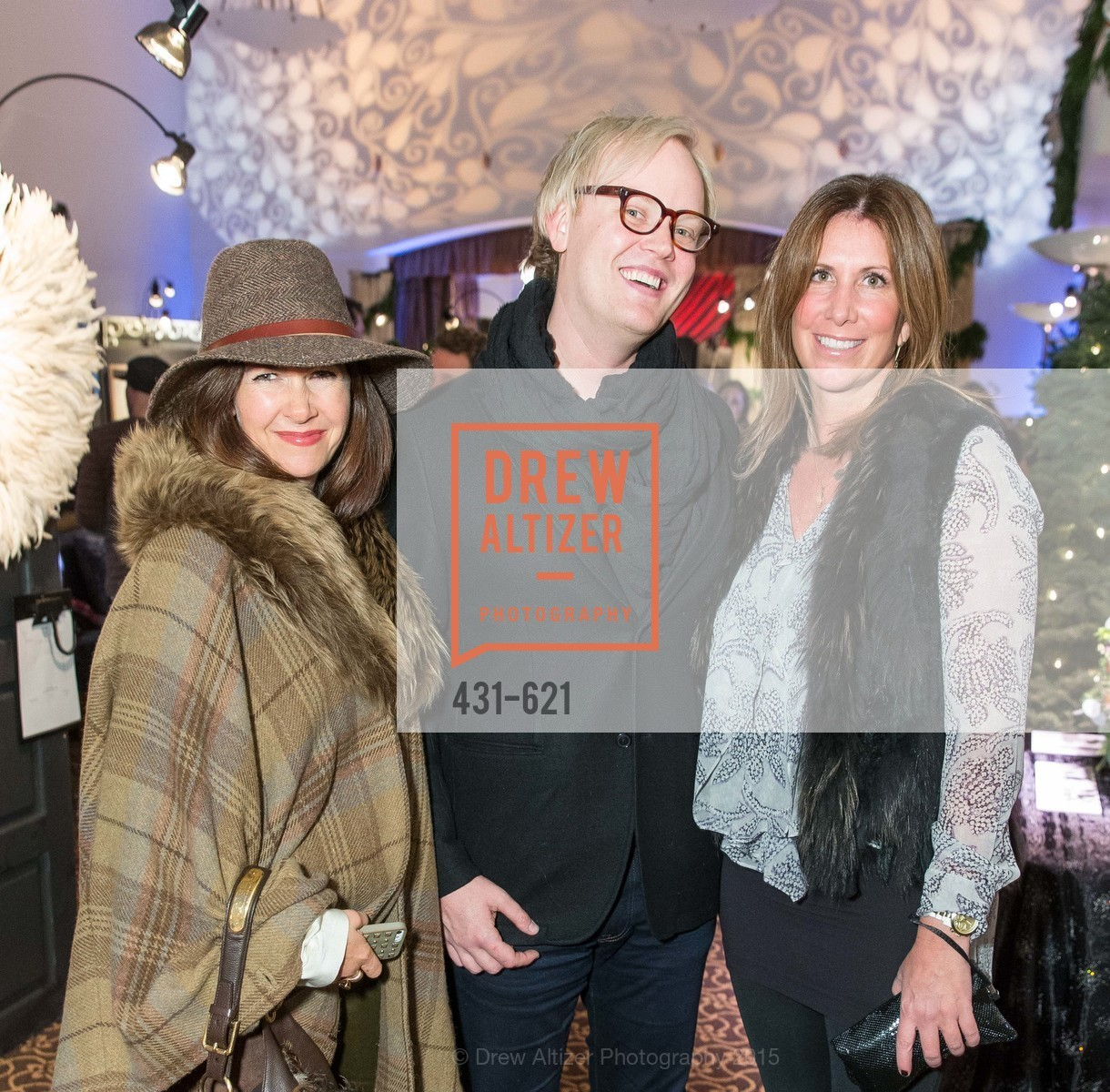 Laurie Landsness, Grant Gibson, Traci Rock, Children of Shelters' Jingle and Mingle, Golden Gate Club. 135 Fisher Loop, December 3rd, 2015,Drew Altizer, Drew Altizer Photography, full-service agency, private events, San Francisco photographer, photographer california