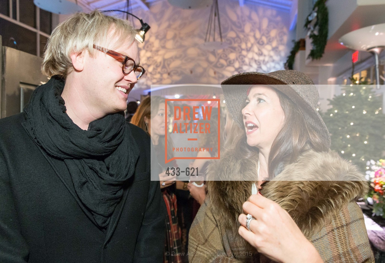 Grant Gibson, Laurie Landsness, Children of Shelters' Jingle and Mingle, Golden Gate Club. 135 Fisher Loop, December 3rd, 2015,Drew Altizer, Drew Altizer Photography, full-service agency, private events, San Francisco photographer, photographer california