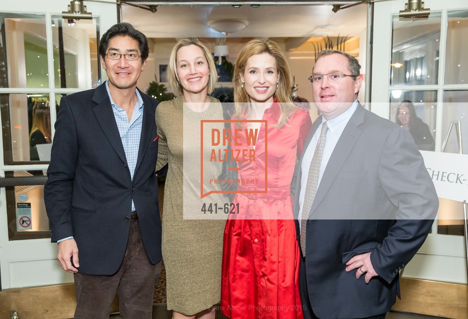 David Chung, Erin Glenn, Kate Harbin, Children of Shelters' Jingle and Mingle, Golden Gate Club. 135 Fisher Loop, December 3rd, 2015,Drew Altizer, Drew Altizer Photography, full-service agency, private events, San Francisco photographer, photographer california