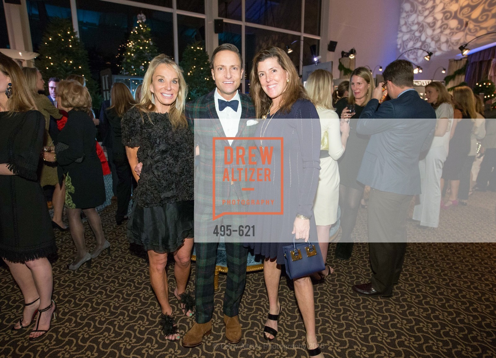 Michelle Cheatham, Ken Fulk, Liz Larned, Children of Shelters' Jingle and Mingle, Golden Gate Club. 135 Fisher Loop, December 3rd, 2015,Drew Altizer, Drew Altizer Photography, full-service event agency, private events, San Francisco photographer, photographer California