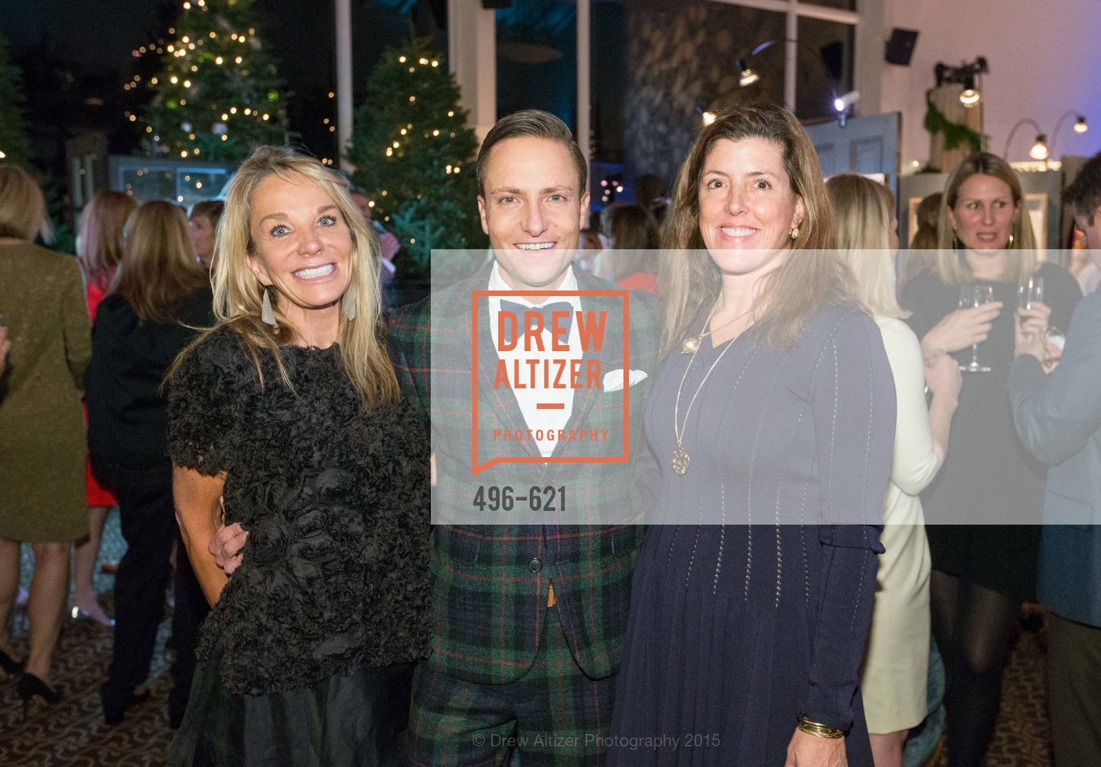 Michelle Cheatham, Ken Fulk, Liz Larned, Children of Shelters' Jingle and Mingle, Golden Gate Club. 135 Fisher Loop, December 3rd, 2015,Drew Altizer, Drew Altizer Photography, full-service agency, private events, San Francisco photographer, photographer california