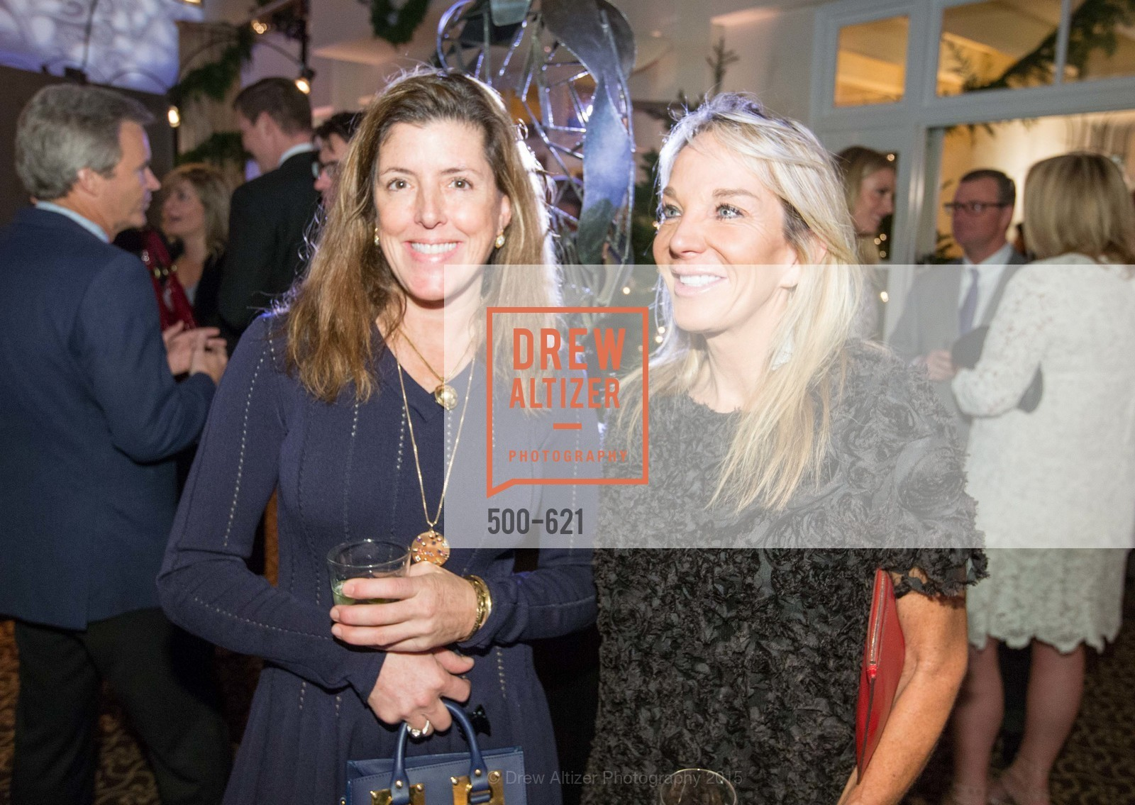 Liz Larned, Michelle Cheatham, Children of Shelters' Jingle and Mingle, Golden Gate Club. 135 Fisher Loop, December 3rd, 2015,Drew Altizer, Drew Altizer Photography, full-service agency, private events, San Francisco photographer, photographer california