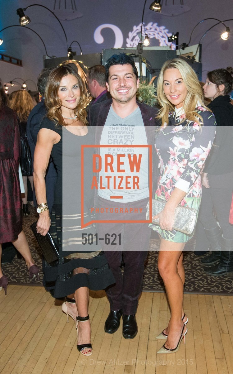 Claudia Ross, Jake Wall, Tiffany Cummins, Children of Shelters' Jingle and Mingle, Golden Gate Club. 135 Fisher Loop, December 3rd, 2015,Drew Altizer, Drew Altizer Photography, full-service agency, private events, San Francisco photographer, photographer california