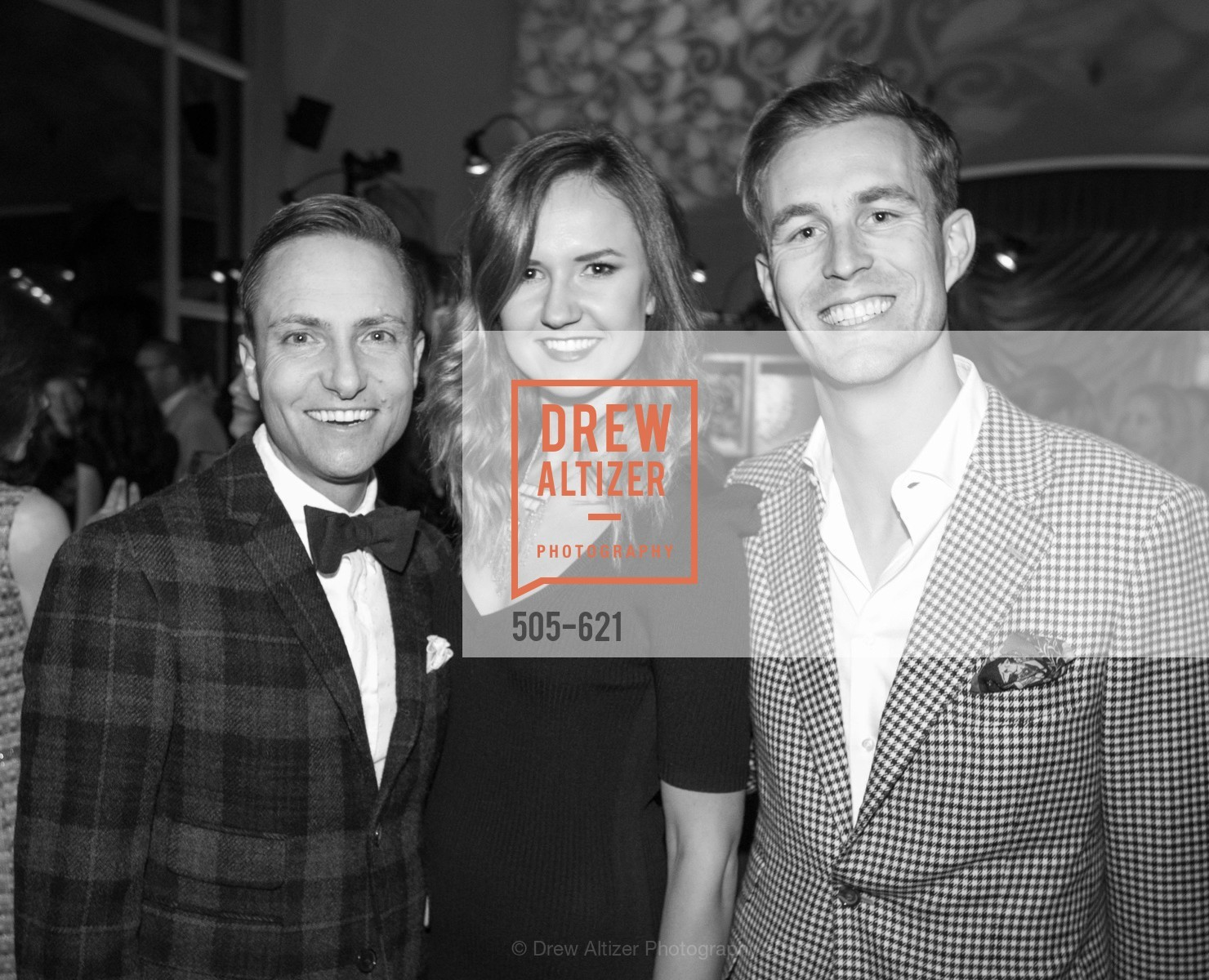 Ken Fulk, Liz Sergeeb, Jordan Kelley, Children of Shelters' Jingle and Mingle, Golden Gate Club. 135 Fisher Loop, December 3rd, 2015,Drew Altizer, Drew Altizer Photography, full-service event agency, private events, San Francisco photographer, photographer California