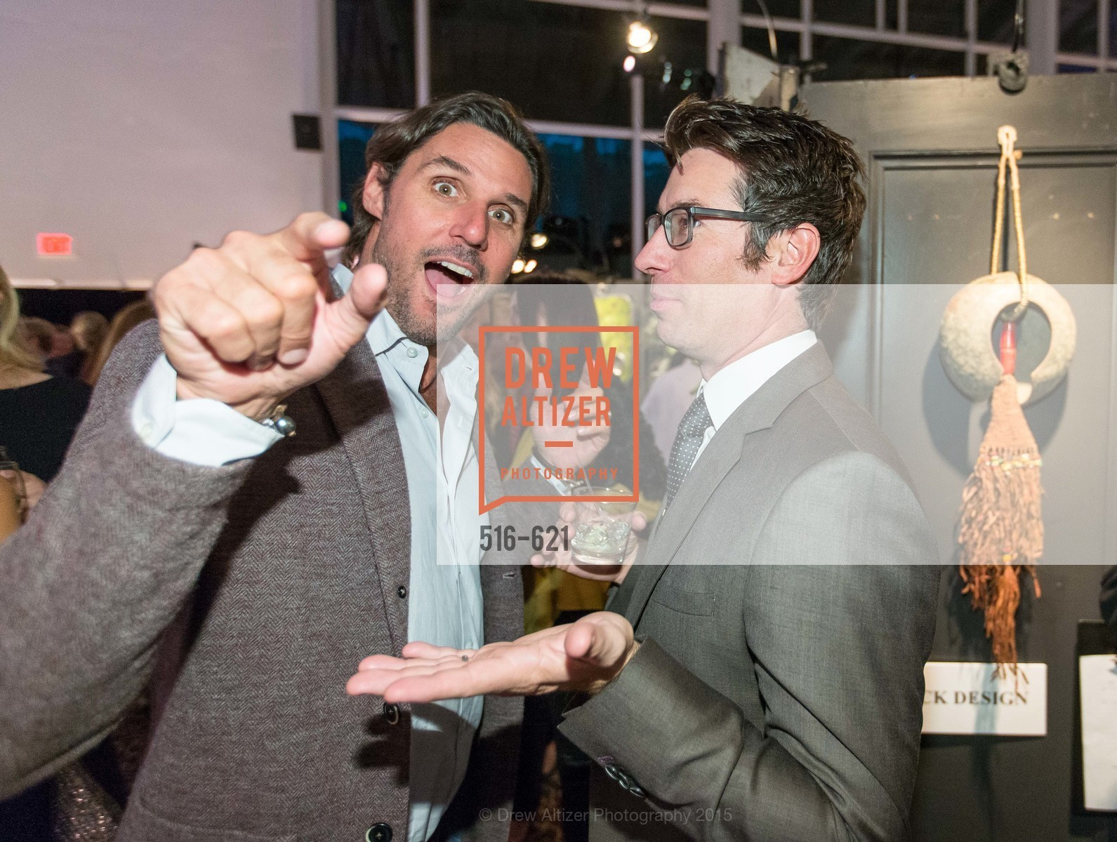 Wick Will, Jeff Schlarb, Children of Shelters' Jingle and Mingle, Golden Gate Club. 135 Fisher Loop, December 3rd, 2015,Drew Altizer, Drew Altizer Photography, full-service agency, private events, San Francisco photographer, photographer california