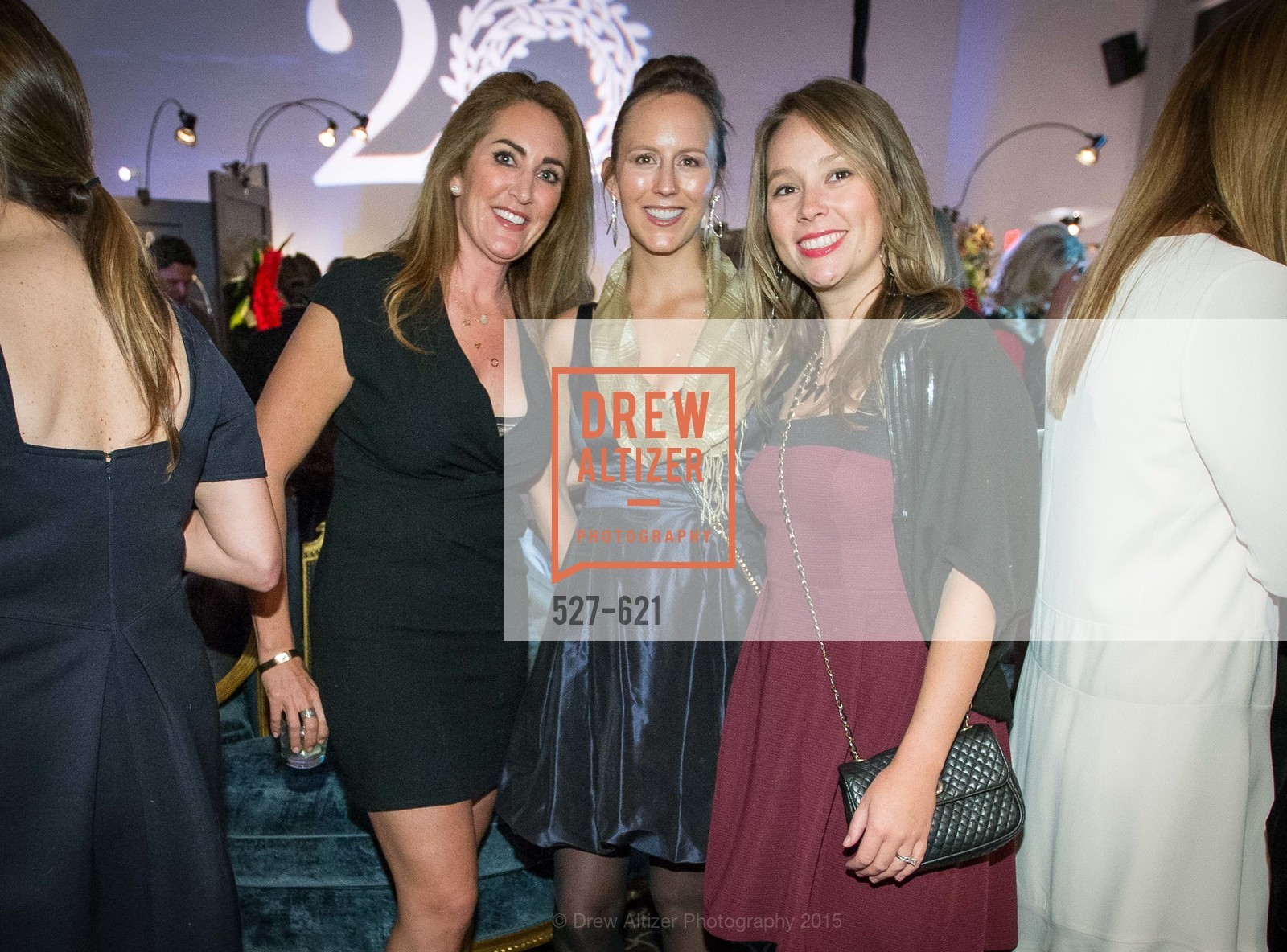 Ali Parsons, Elizabeth Corner, Jen Grein, Children of Shelters' Jingle and Mingle, Golden Gate Club. 135 Fisher Loop, December 3rd, 2015,Drew Altizer, Drew Altizer Photography, full-service event agency, private events, San Francisco photographer, photographer California