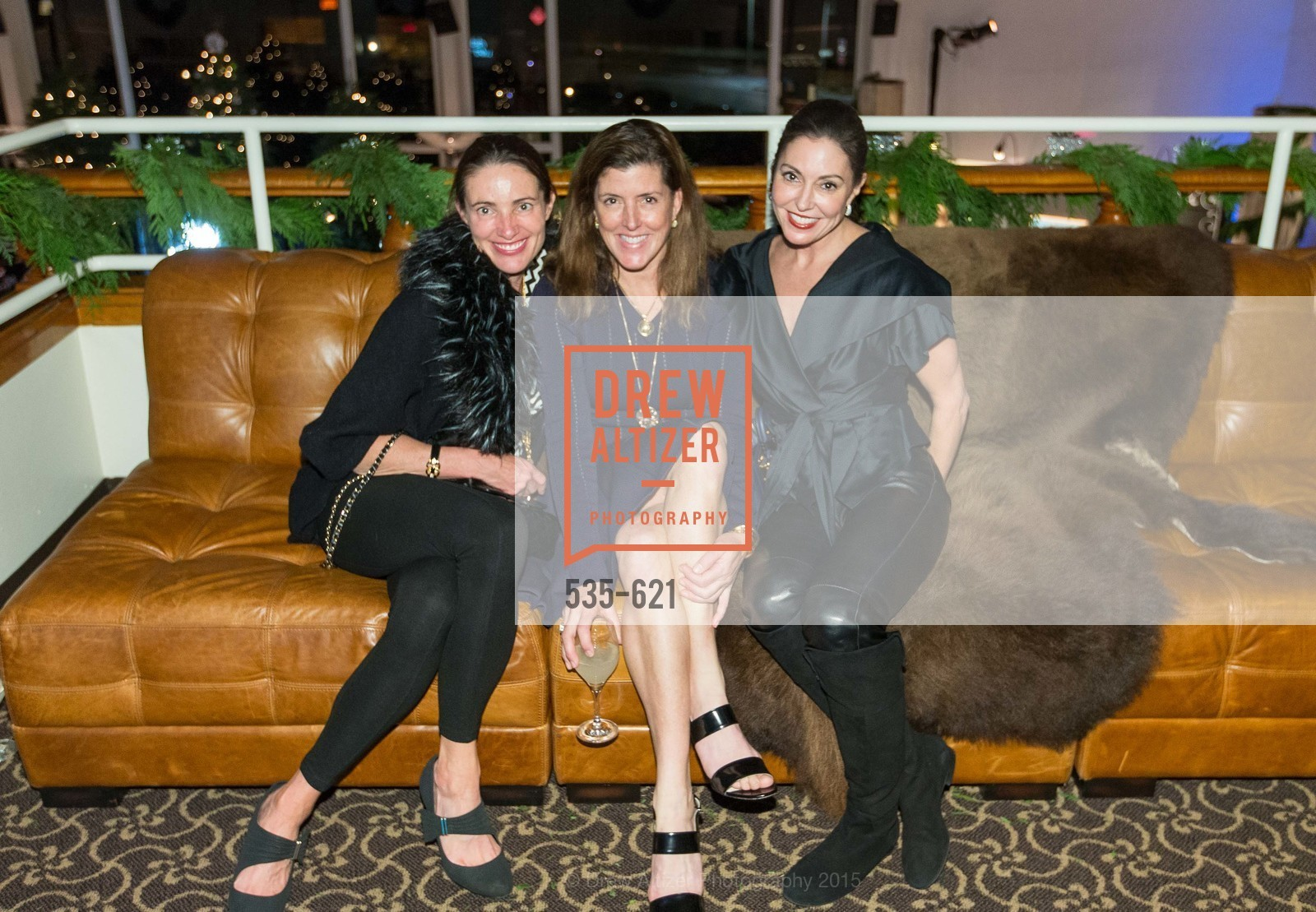 Anne Laury, Liz Larned, Marybeth Lamotte, Children of Shelters' Jingle and Mingle, Golden Gate Club. 135 Fisher Loop, December 3rd, 2015,Drew Altizer, Drew Altizer Photography, full-service agency, private events, San Francisco photographer, photographer california