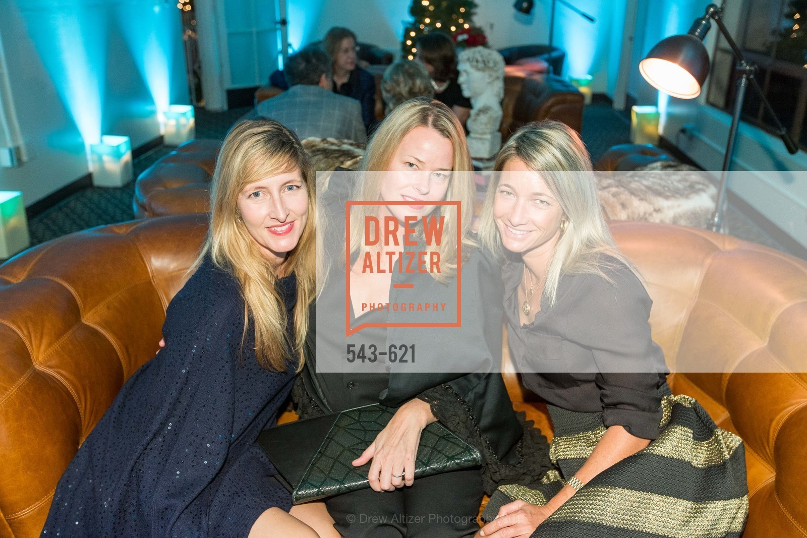 Mary Tesluk, Kiara Robb, Sarah Pinto, Children of Shelters' Jingle and Mingle, Golden Gate Club. 135 Fisher Loop, December 3rd, 2015,Drew Altizer, Drew Altizer Photography, full-service agency, private events, San Francisco photographer, photographer california