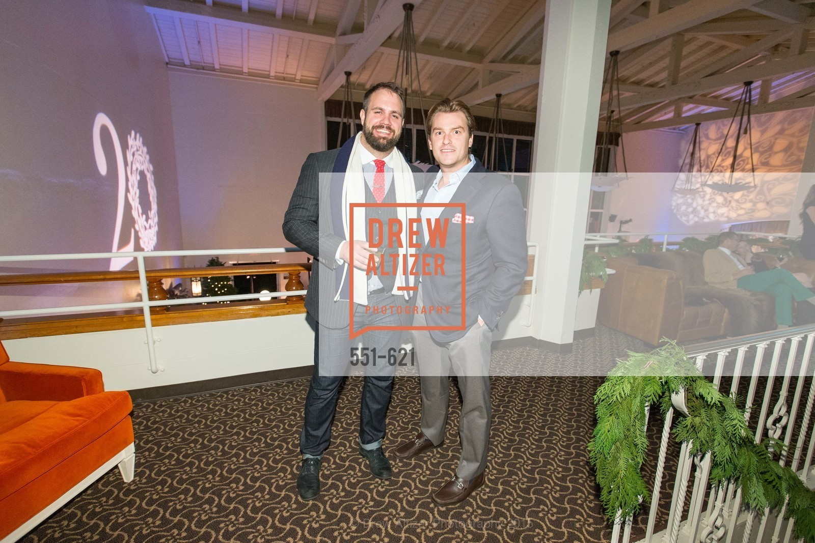 Will Johnson, Brian Freckmann, Children of Shelters' Jingle and Mingle, Golden Gate Club. 135 Fisher Loop, December 3rd, 2015,Drew Altizer, Drew Altizer Photography, full-service agency, private events, San Francisco photographer, photographer california