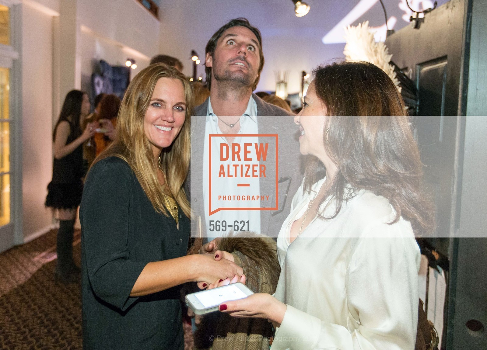 Jen Wick, Will Wick, Laurie Landsness, Children of Shelters' Jingle and Mingle, Golden Gate Club. 135 Fisher Loop, December 3rd, 2015,Drew Altizer, Drew Altizer Photography, full-service agency, private events, San Francisco photographer, photographer california