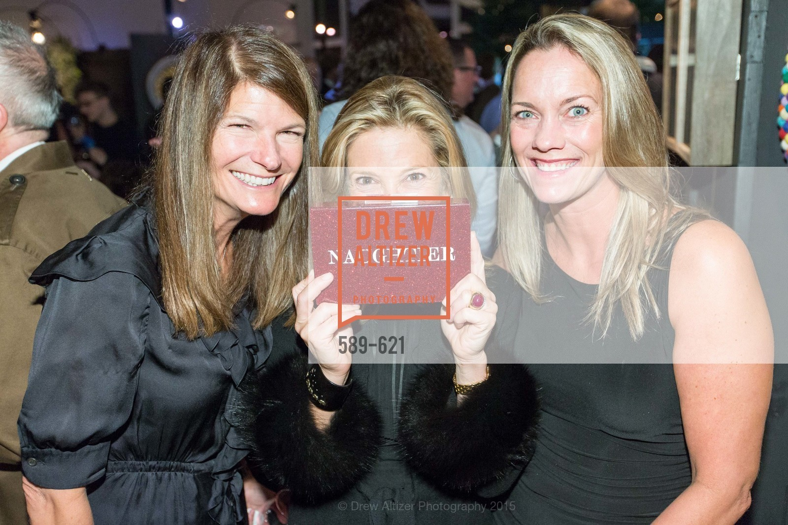 Martha Ehmann Conte, Kathryn Lasater, Ali Reeder, Children of Shelters' Jingle and Mingle, Golden Gate Club. 135 Fisher Loop, December 3rd, 2015,Drew Altizer, Drew Altizer Photography, full-service agency, private events, San Francisco photographer, photographer california