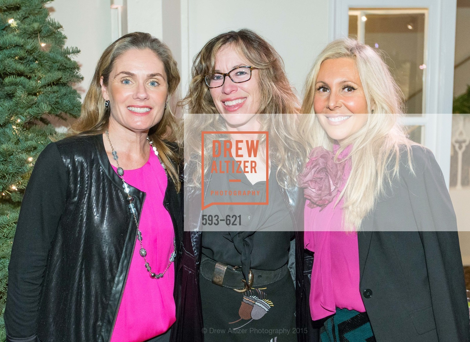 Michelle Keene, Lisa McDonald, Tracy Falconer, Children of Shelters' Jingle and Mingle, Golden Gate Club. 135 Fisher Loop, December 3rd, 2015,Drew Altizer, Drew Altizer Photography, full-service agency, private events, San Francisco photographer, photographer california